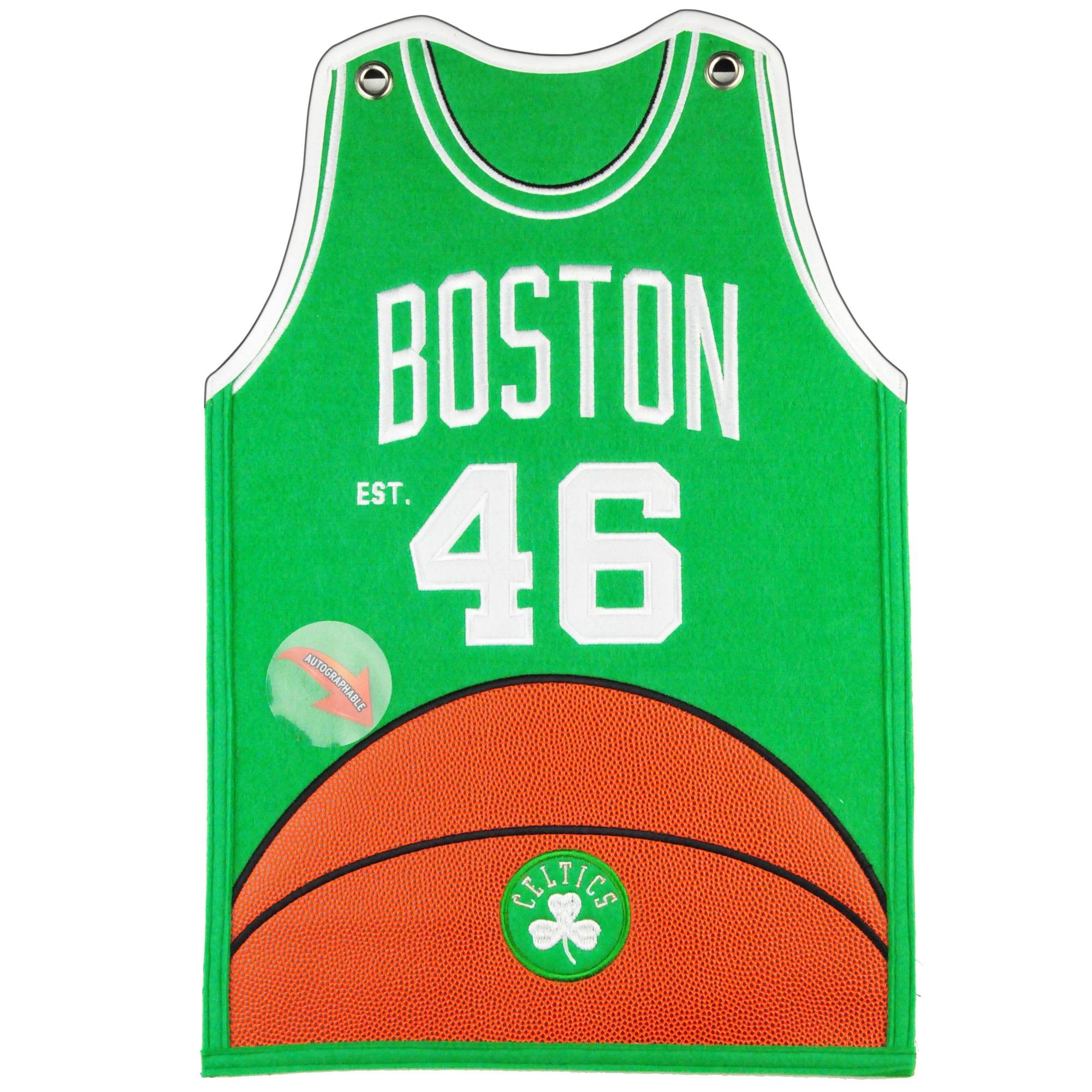 Boston Celtics 20'' x 18'' Jersey Traditions Banner