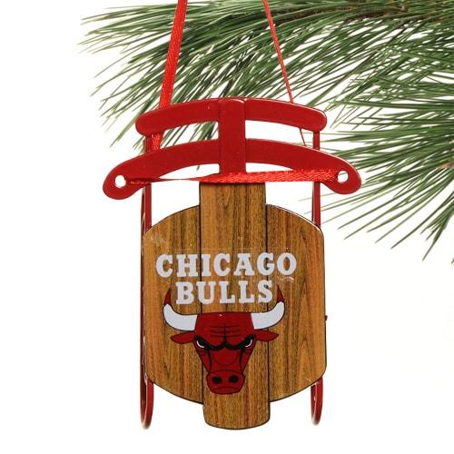 Chicago Bulls Sled Ornament