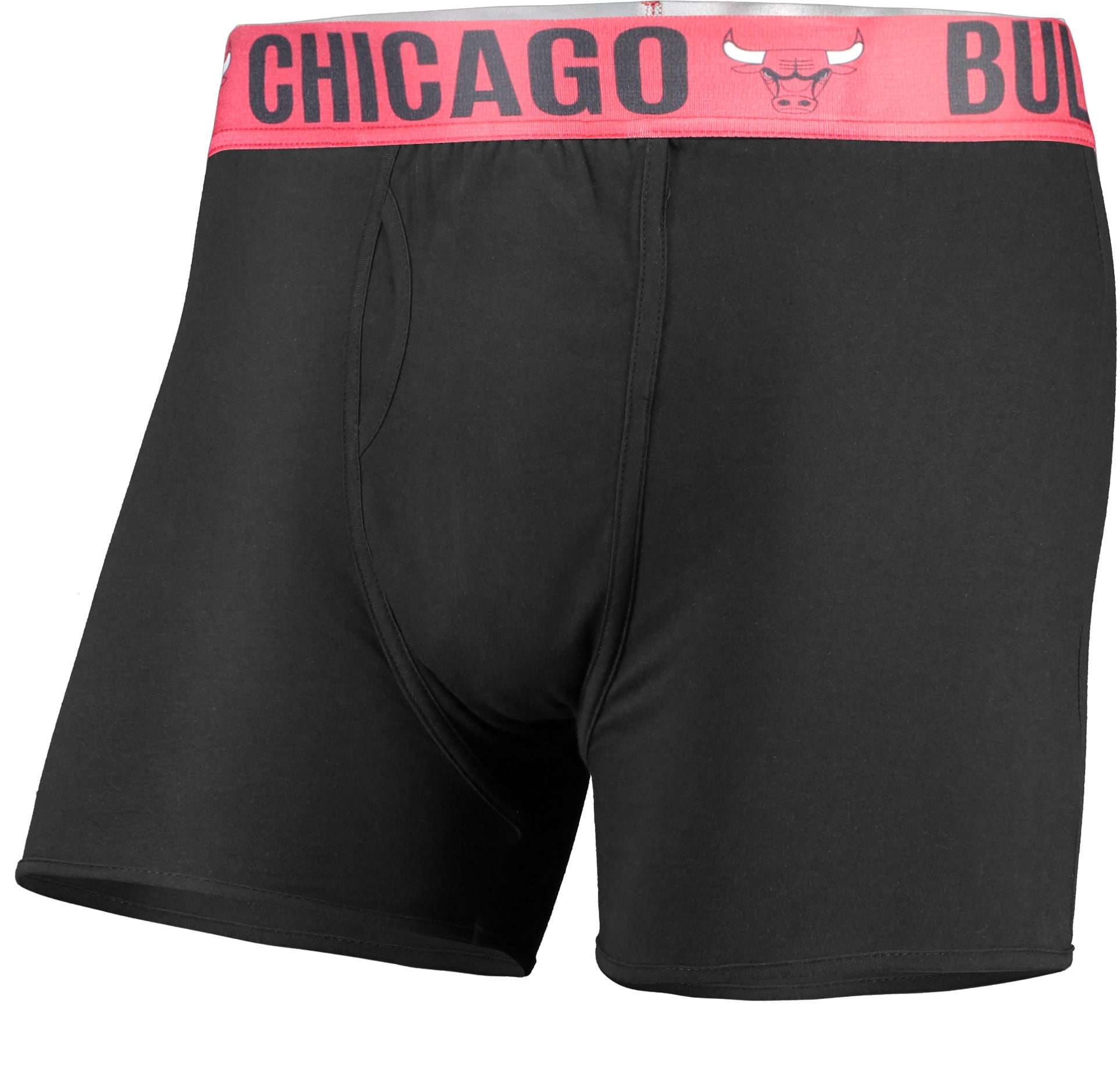 Chicago Bulls Concepts Sport Boxer Brief with Sublimated Waistband - Black