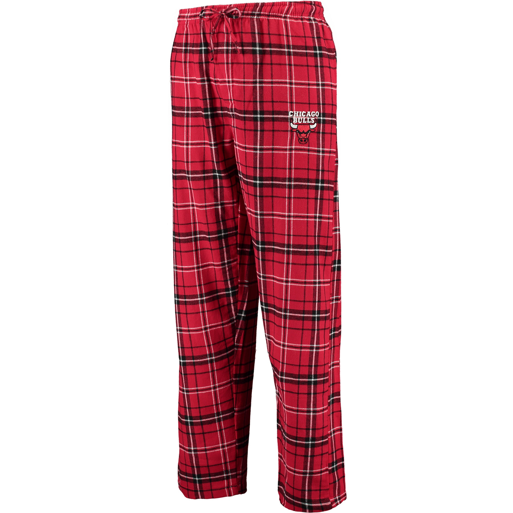 Chicago Bulls Concepts Sport Ultimate Big Sizes Flannel Sleep Pants - Red/Black