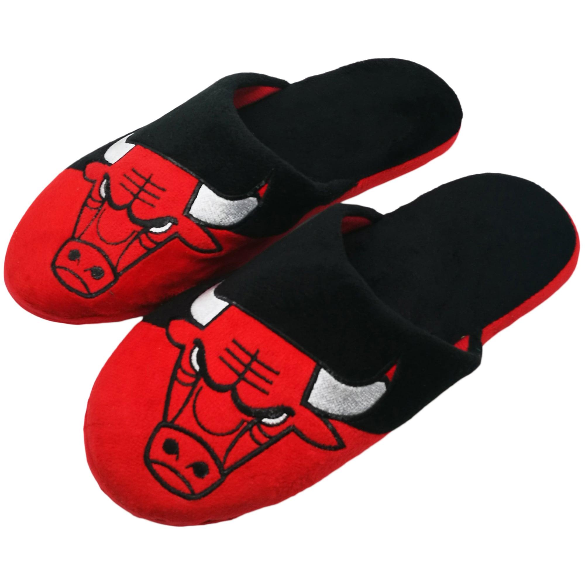 Chicago Bulls Colorblock Slide Slippers