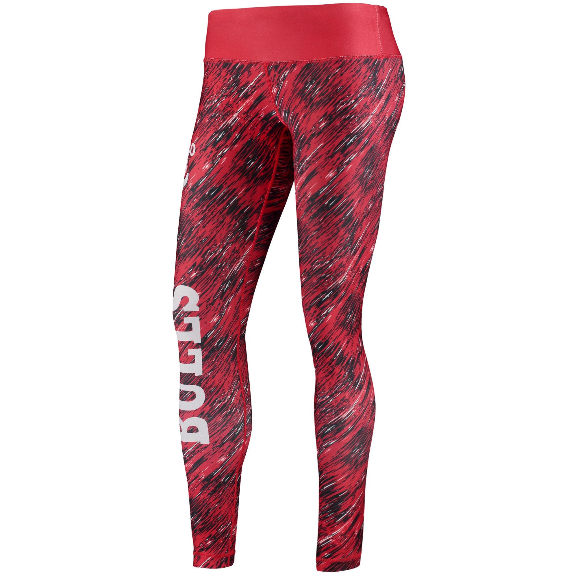 Chicago Bulls Women's Static Rain Leggings - Red