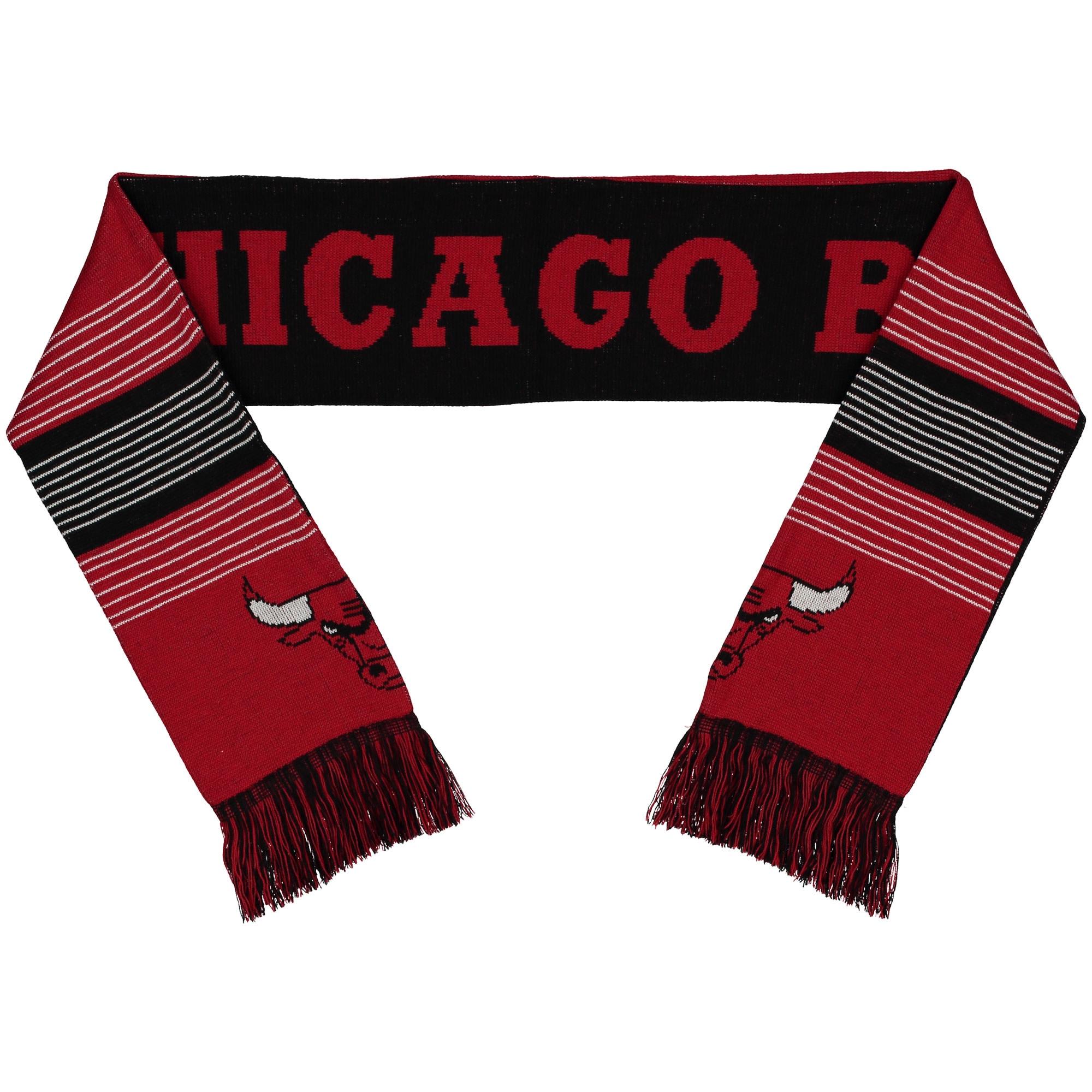 Chicago Bulls Split Logo Reversible Scarf