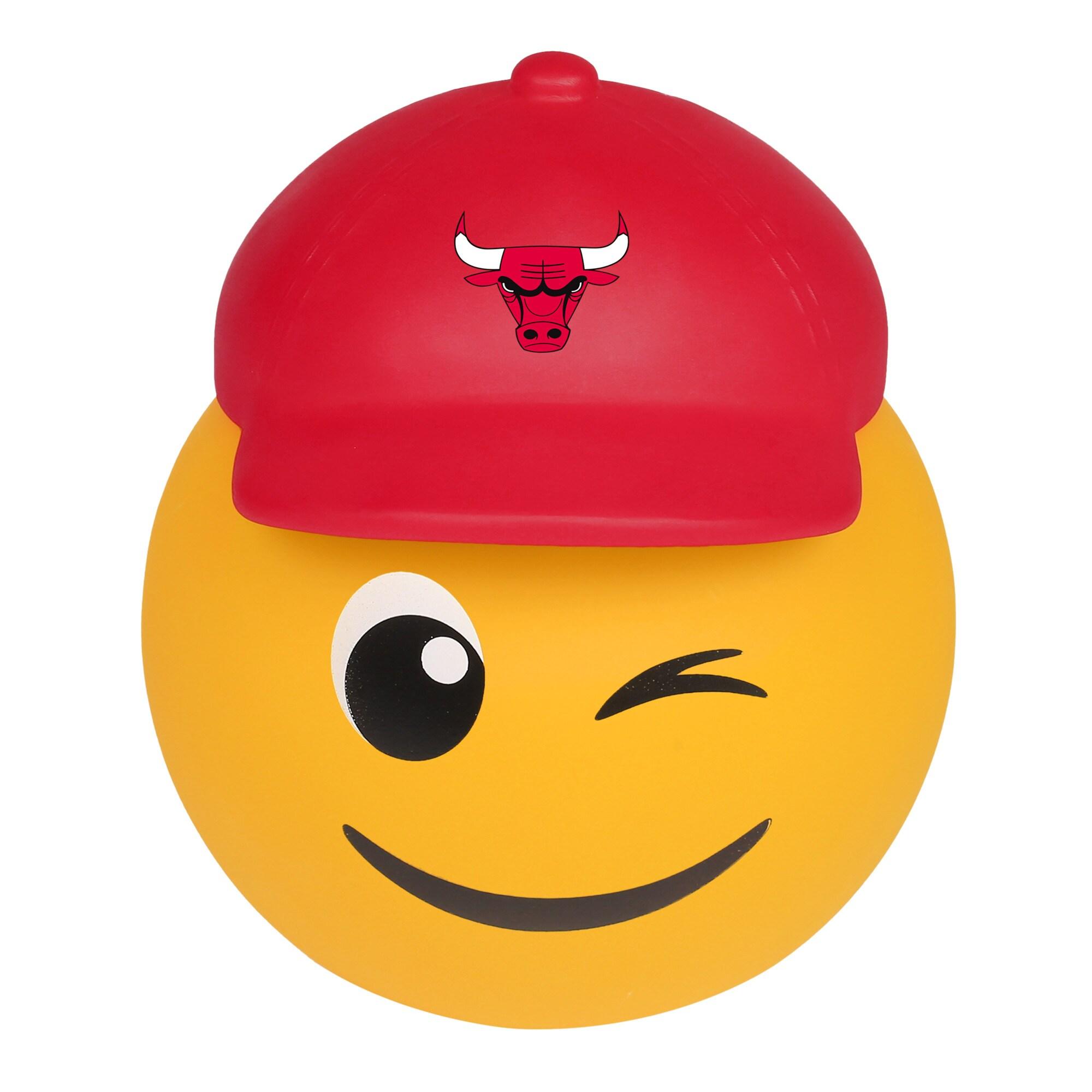 Chicago Bulls Teamoji Wink Vinyl Bank