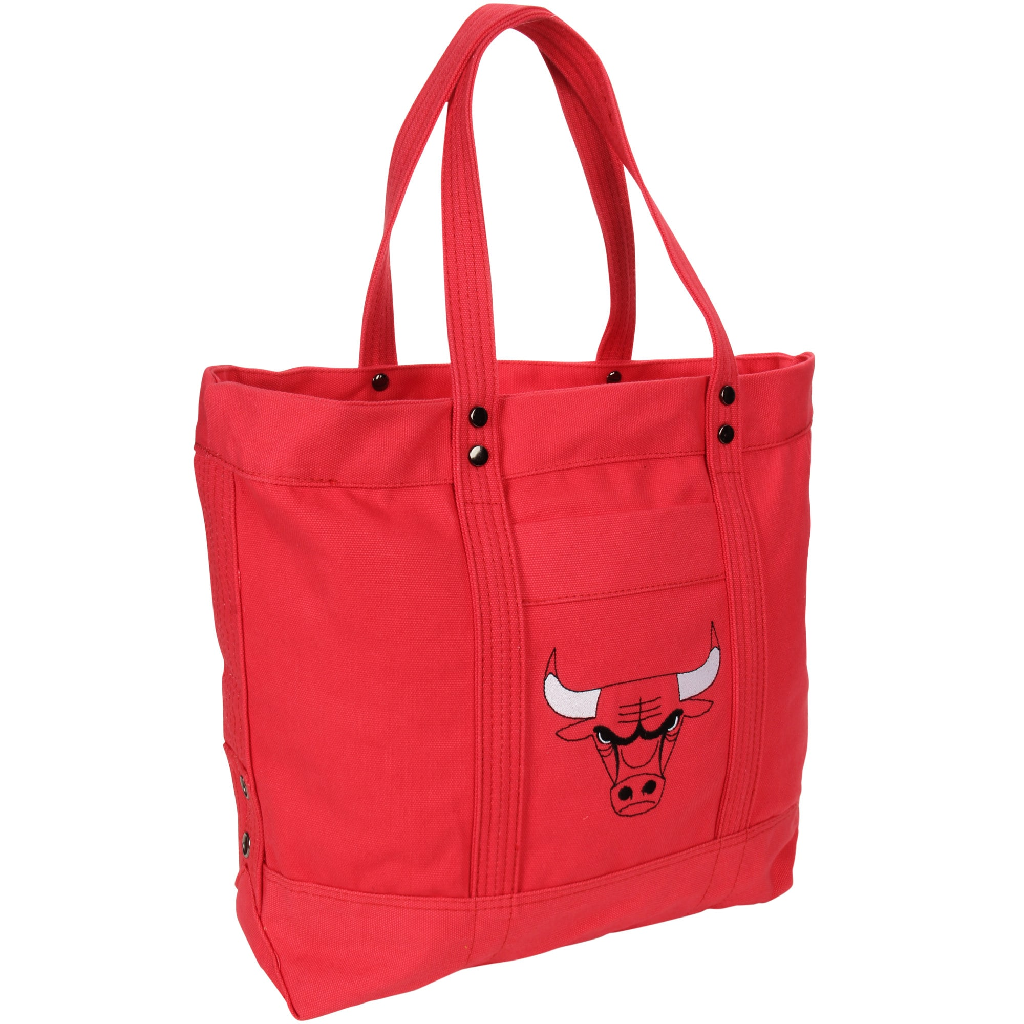 Chicago Bulls Women's High End Canvas Tote
