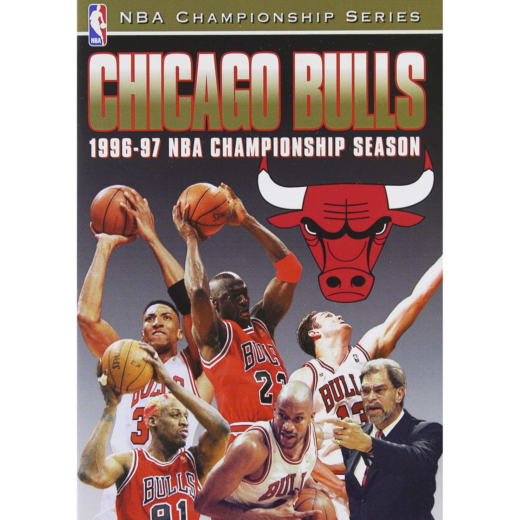 Chicago Bulls 1997 NBA Champions DVD