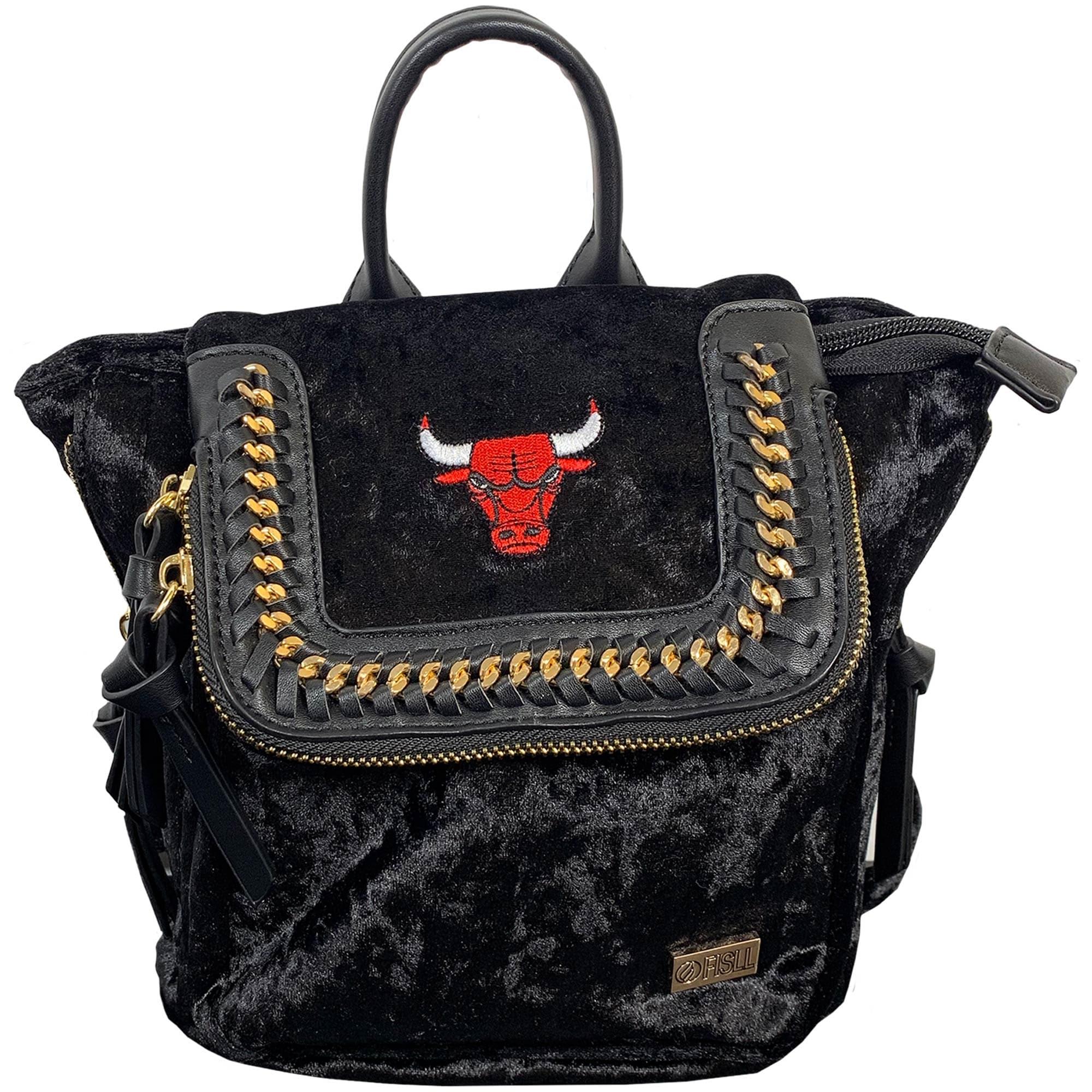 Chicago Bulls Velvet Mini Backpack