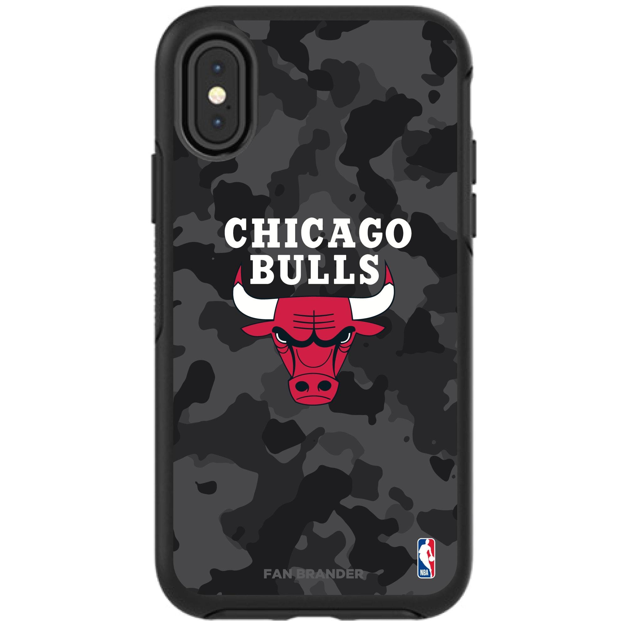 Chicago Bulls OtterBox Urban Camo iPhone Case