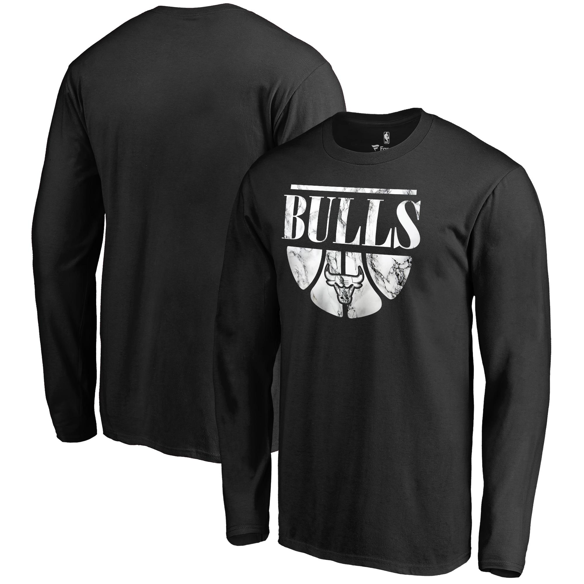 Chicago Bulls Fanatics Branded Buckets Long Sleeve T-Shirt - Black