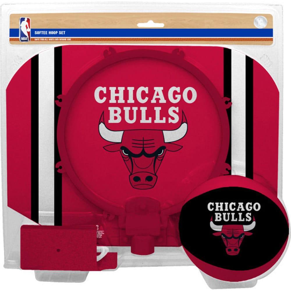 Chicago Bulls Rawlings Softee Hoop & Ball Set - Red