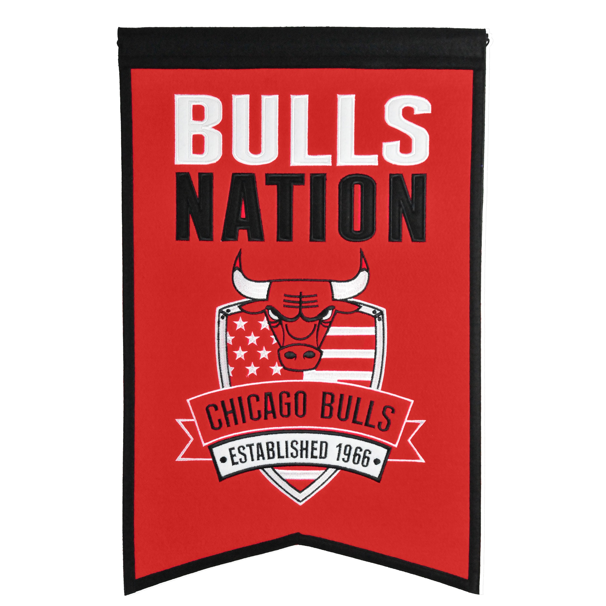 "Chicago Bulls 14"" x 22"" Nations Banner"