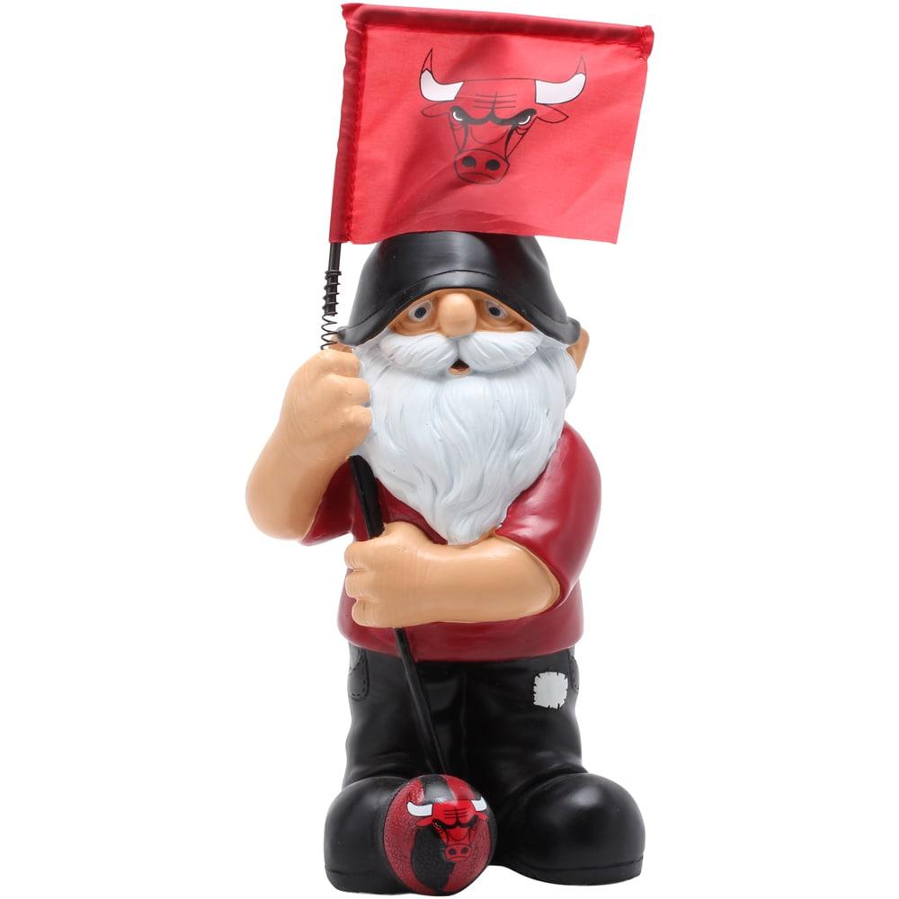Chicago Bulls Springy Flag Gnome