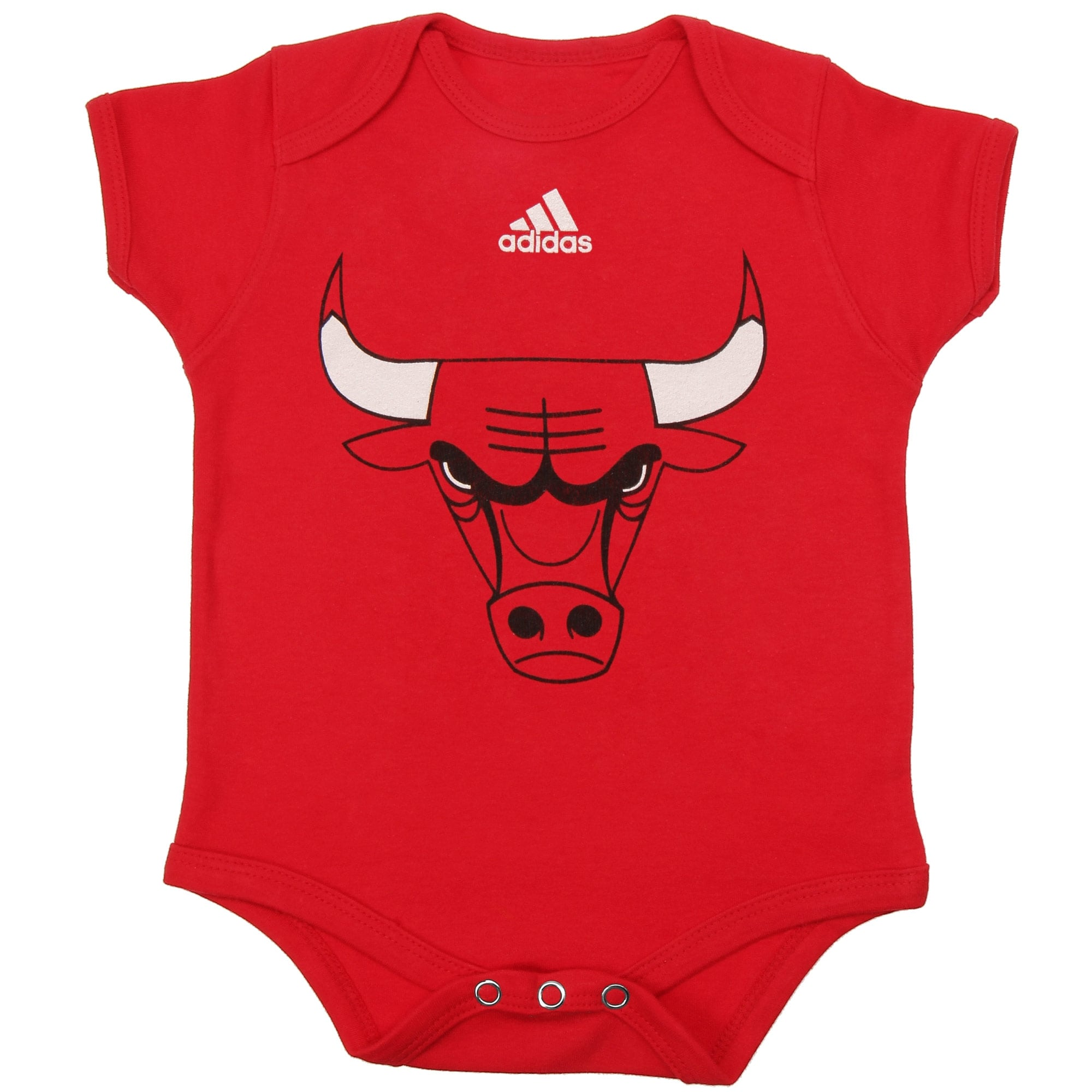 Chicago Bulls adidas Infant Primary Logo Bodysuit - Red