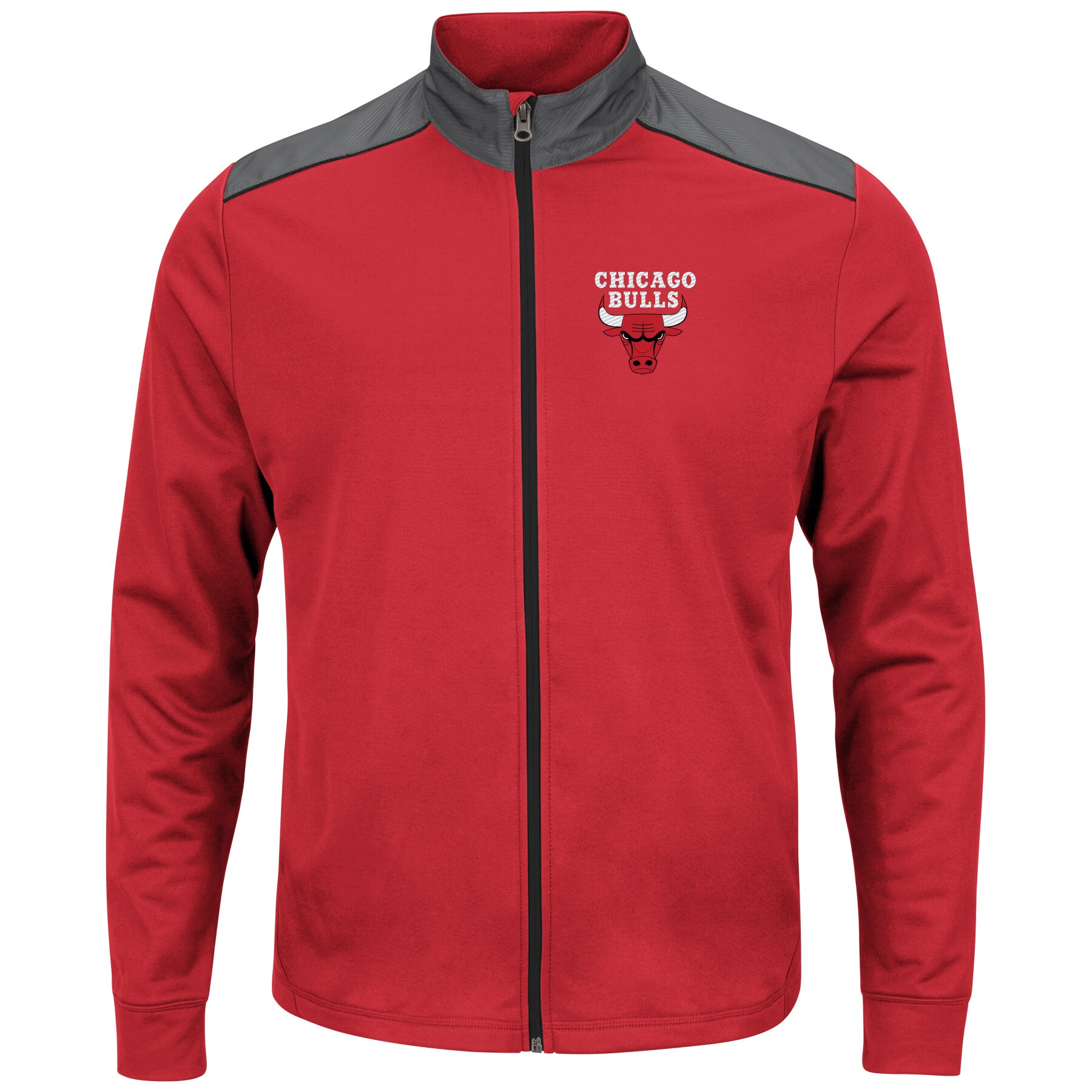 Chicago Bulls Majestic Fast or Last Full-Zip Jacket - Red