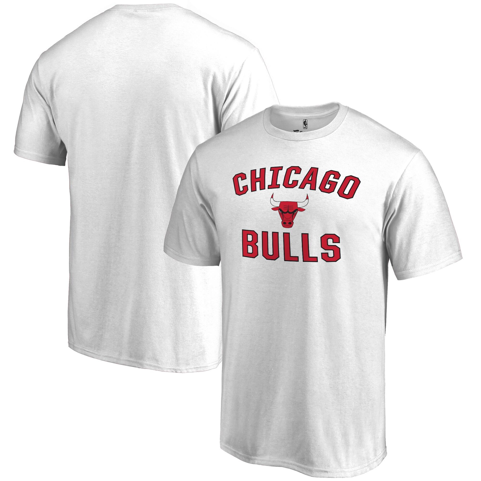 Chicago Bulls Big & Tall Victory Arch T-Shirt - White