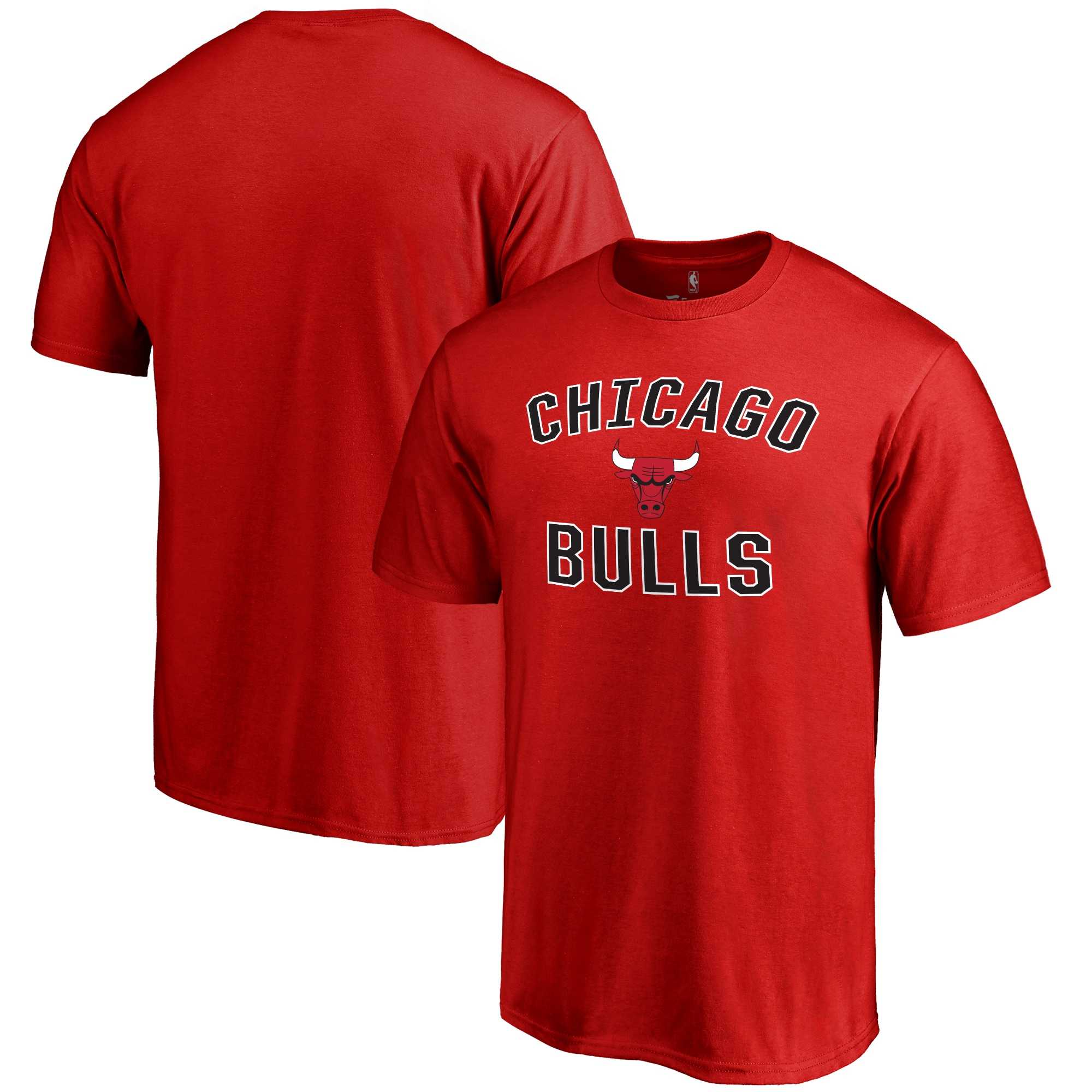 Chicago Bulls Big & Tall Victory Arch T-Shirt - Red