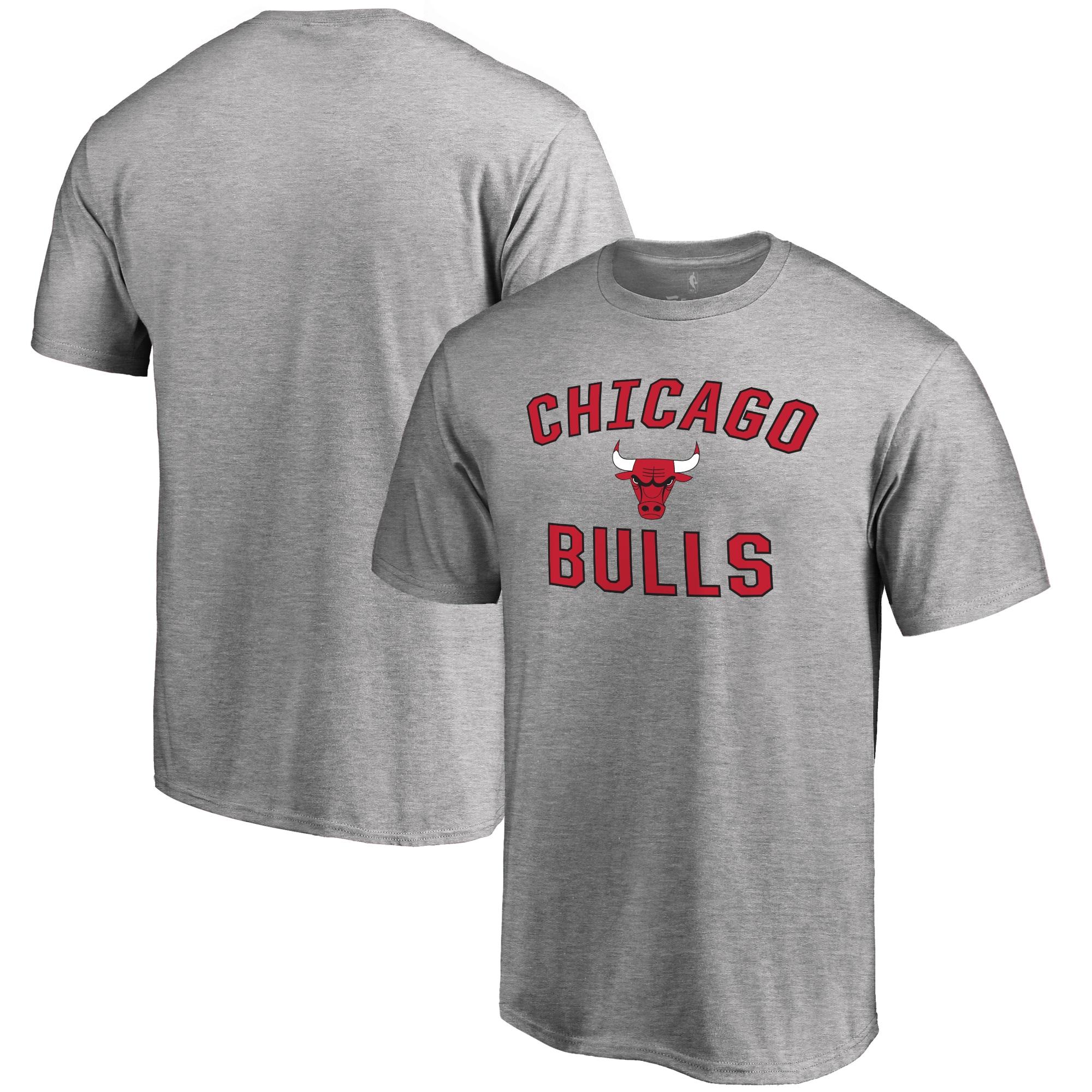Chicago Bulls Big & Tall Victory Arch T-Shirt - Ash