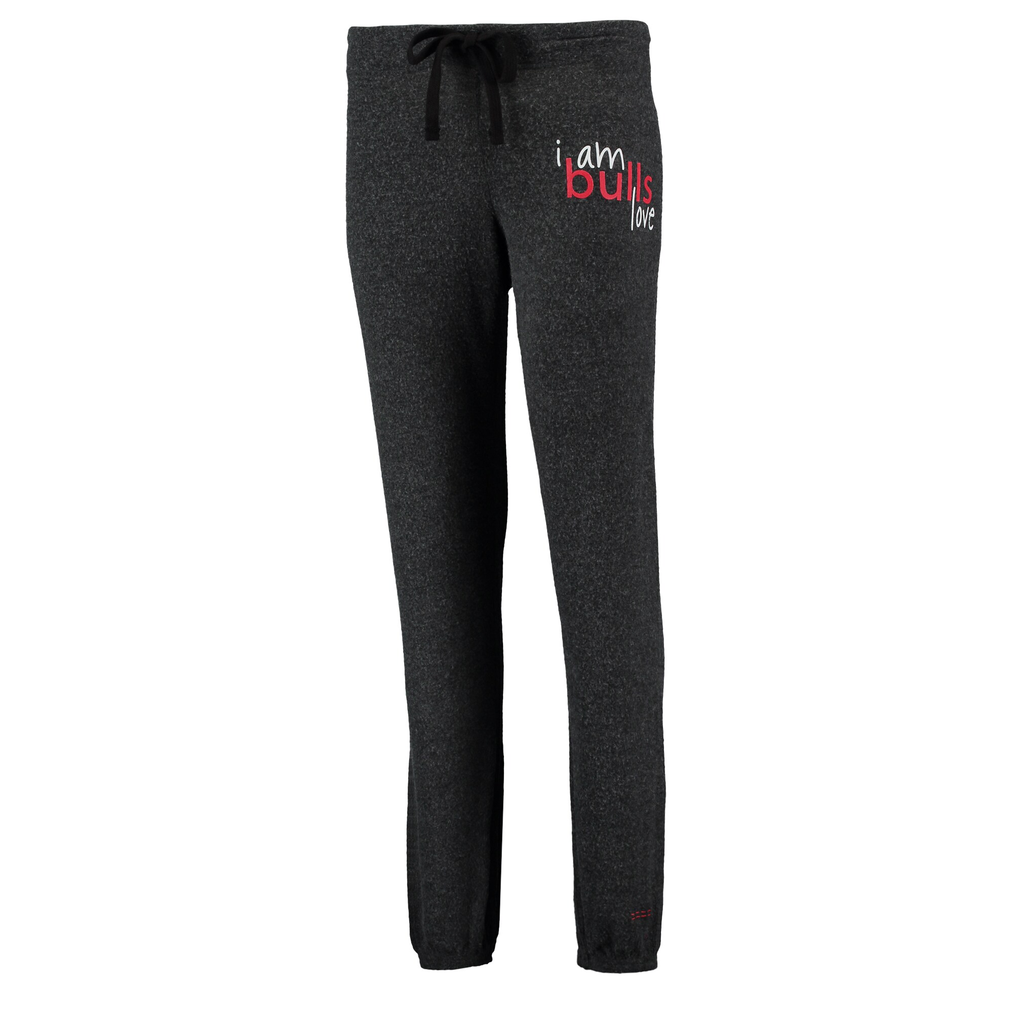Chicago Bulls Peace Love World Women's Comfy Pants - Graphite