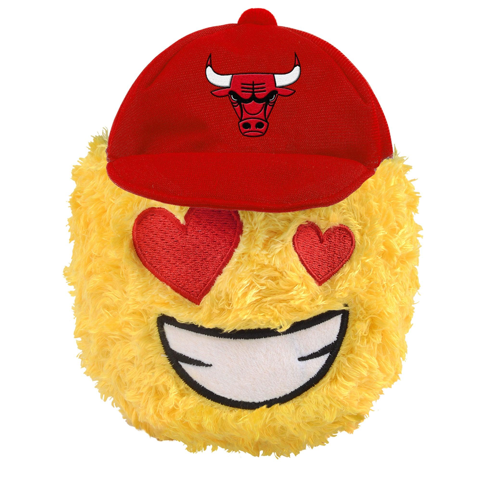 "Chicago Bulls 5"" Heart Eyes Teamoji Plush Toy"