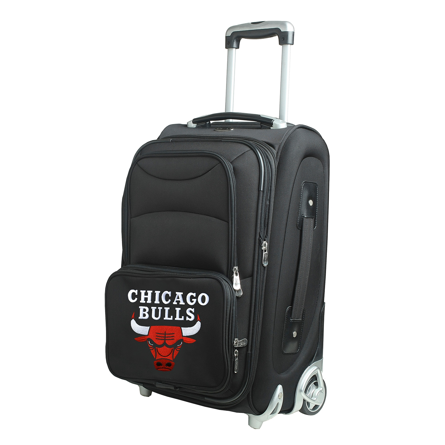 """Chicago Bulls 21"""" Rolling Carry-On Suitcase"""
