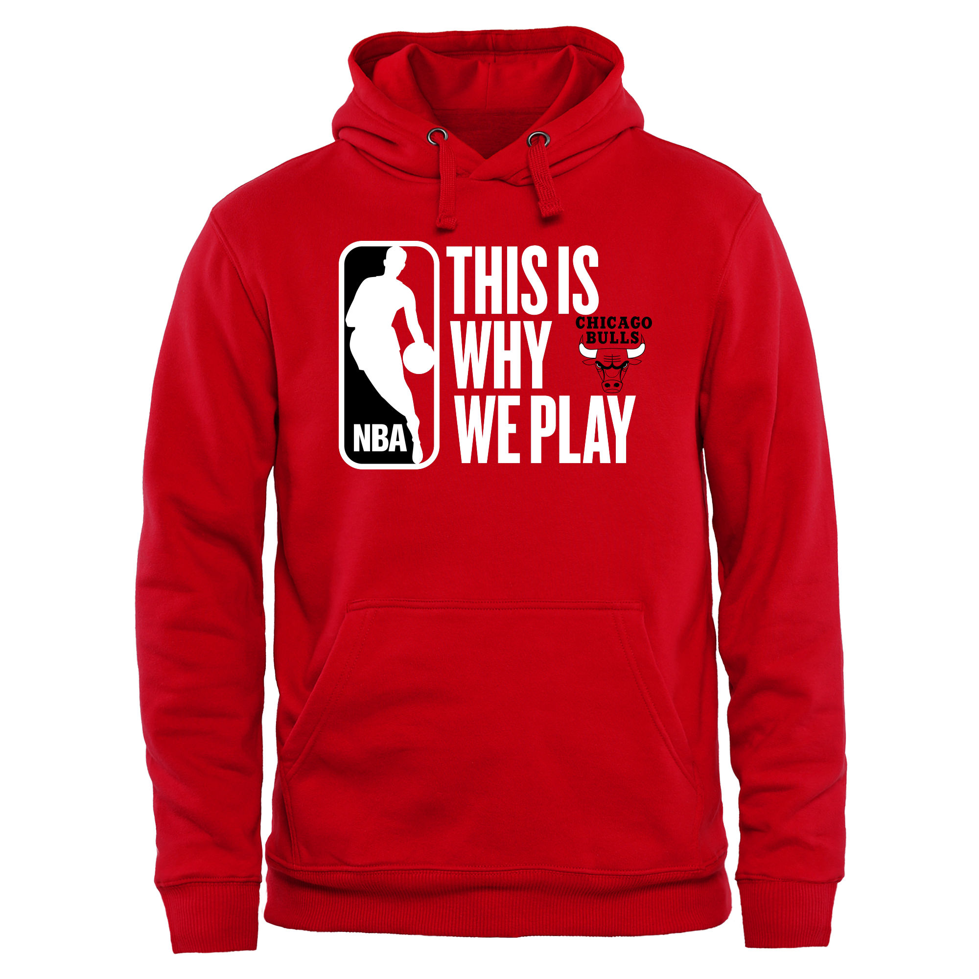 Chicago Bulls This Is Why We Play Pullover Hoodie - Red
