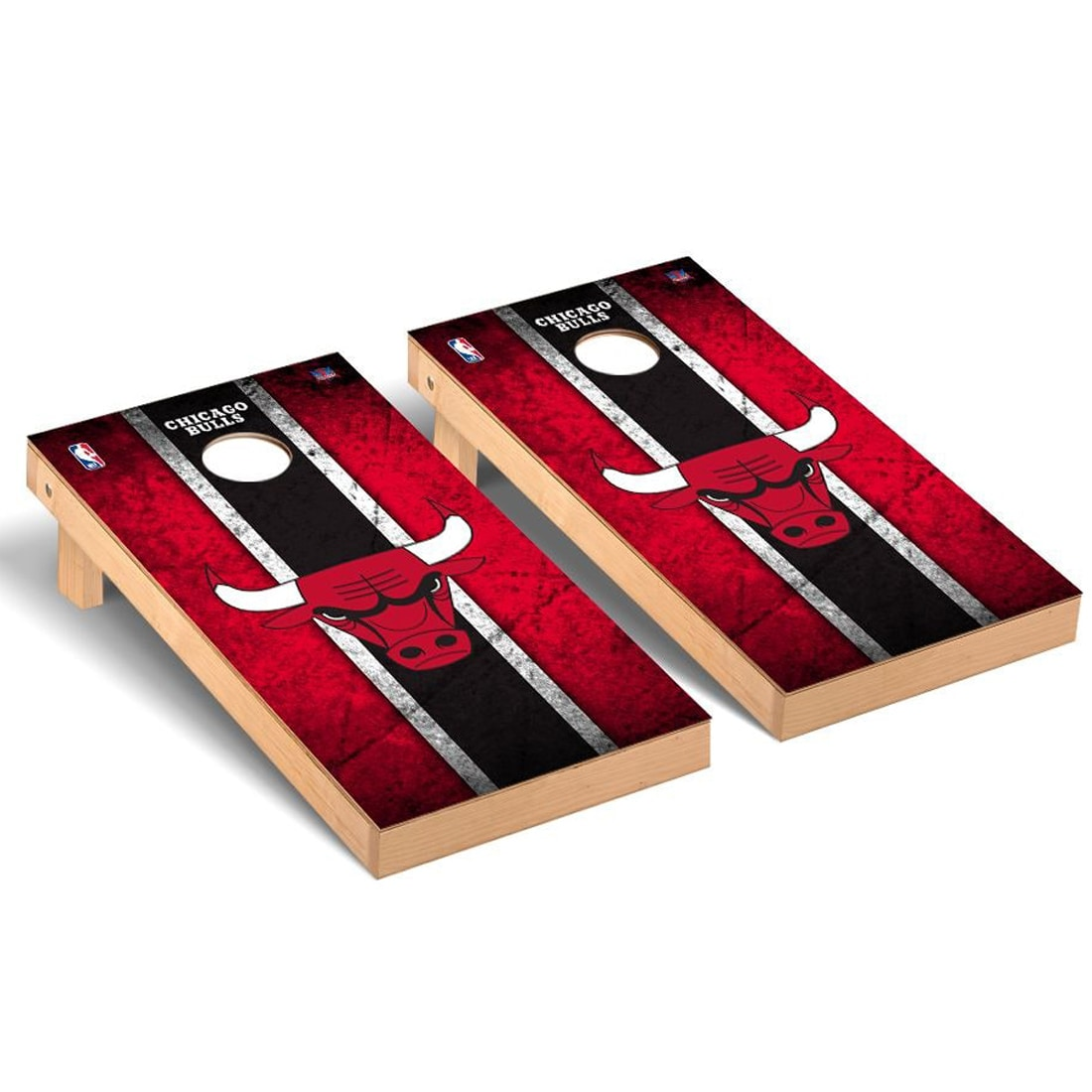 Chicago Bulls 2' x 4' Vintage New Cornhole Set