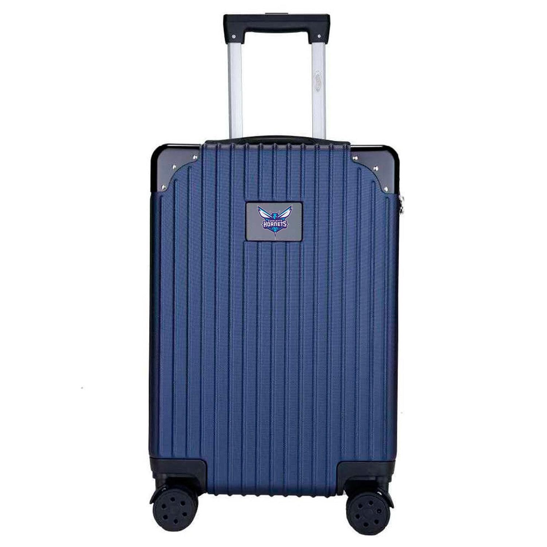 Charlotte Hornets Premium 21'' Carry-On Hardcase Luggage - Navy