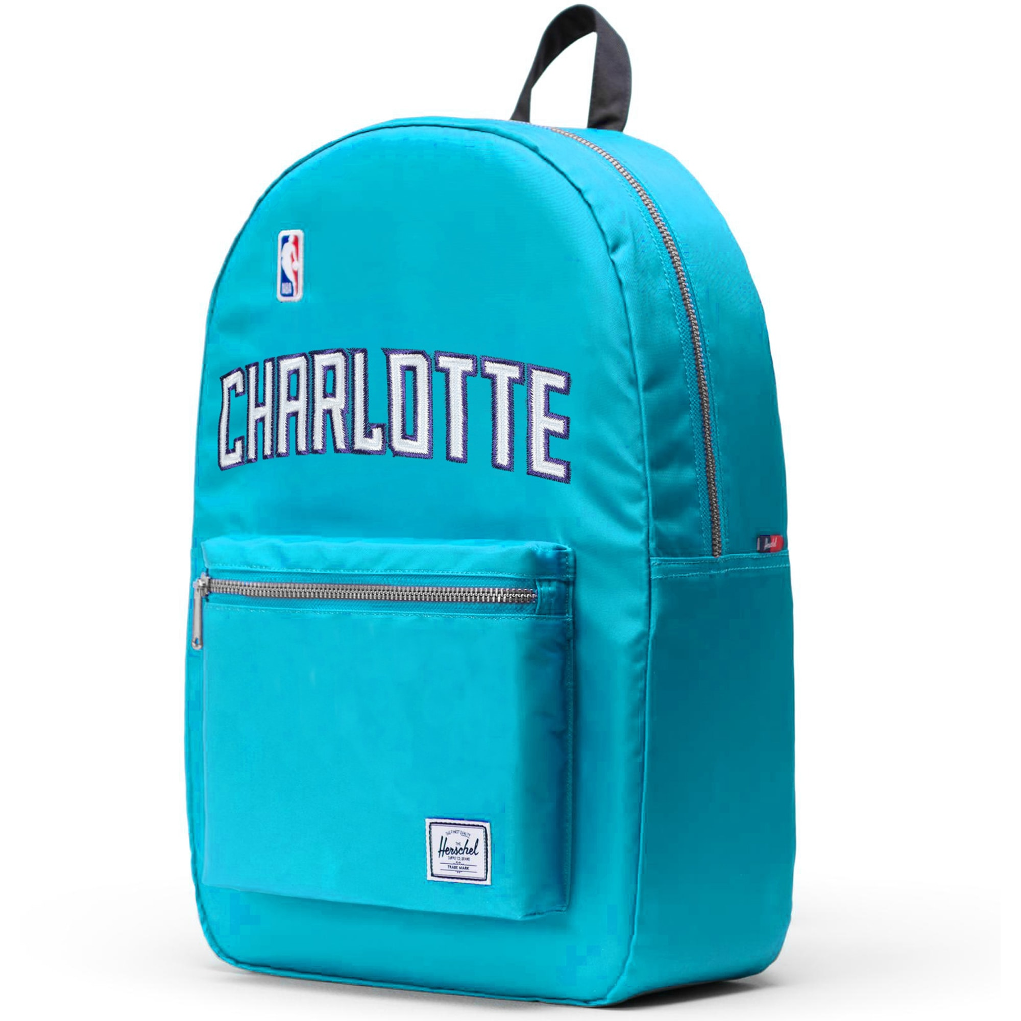 Charlotte Hornets Herschel Supply Co. Satin Settlement Backpack - Teal