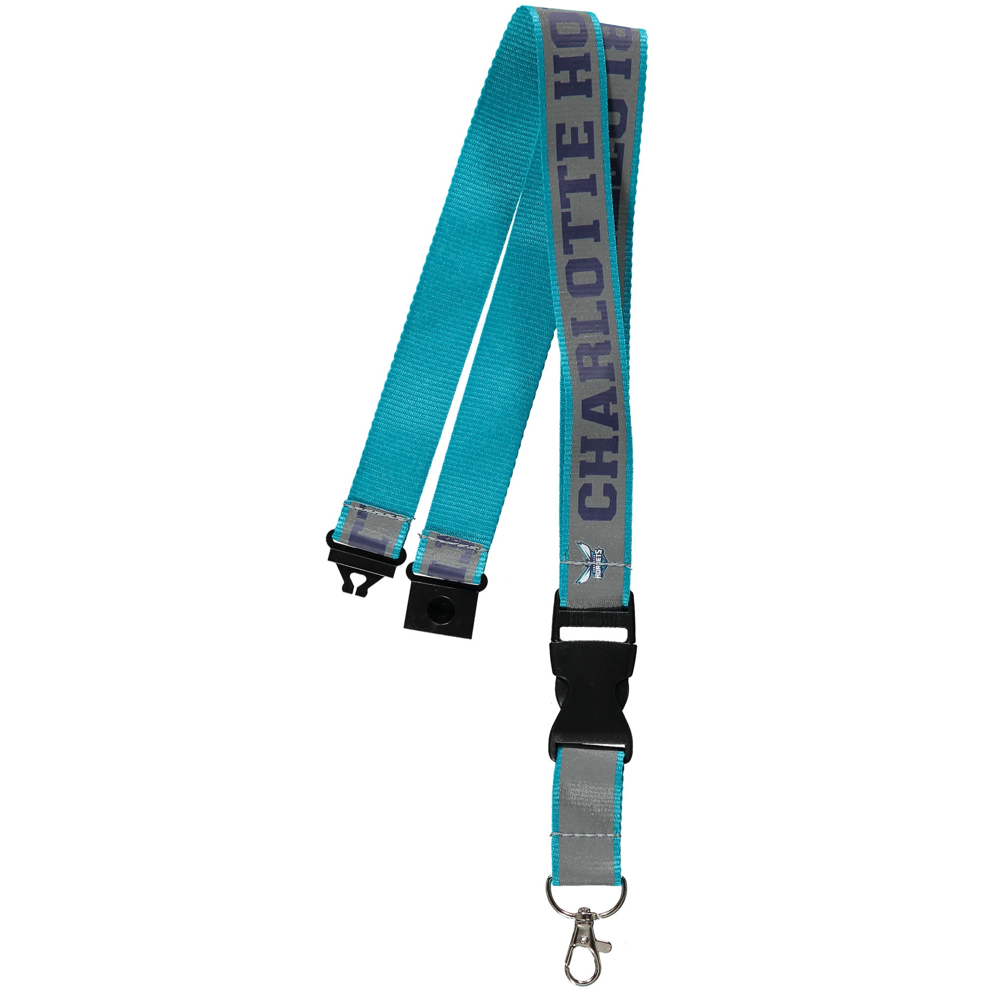 Charlotte Hornets WinCraft Reflective Team Lanyard