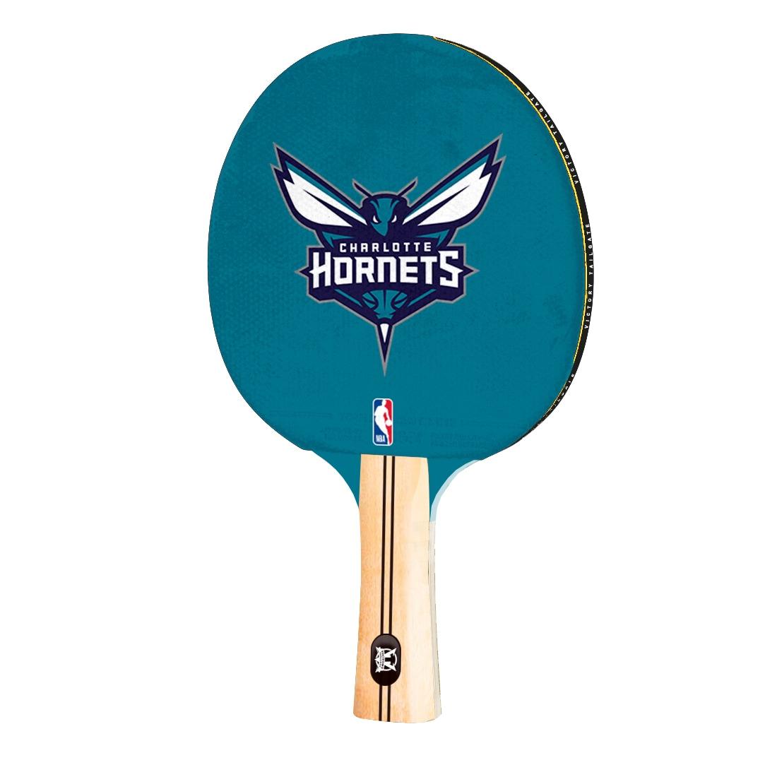 Charlotte Hornets Logo Table Tennis Paddle