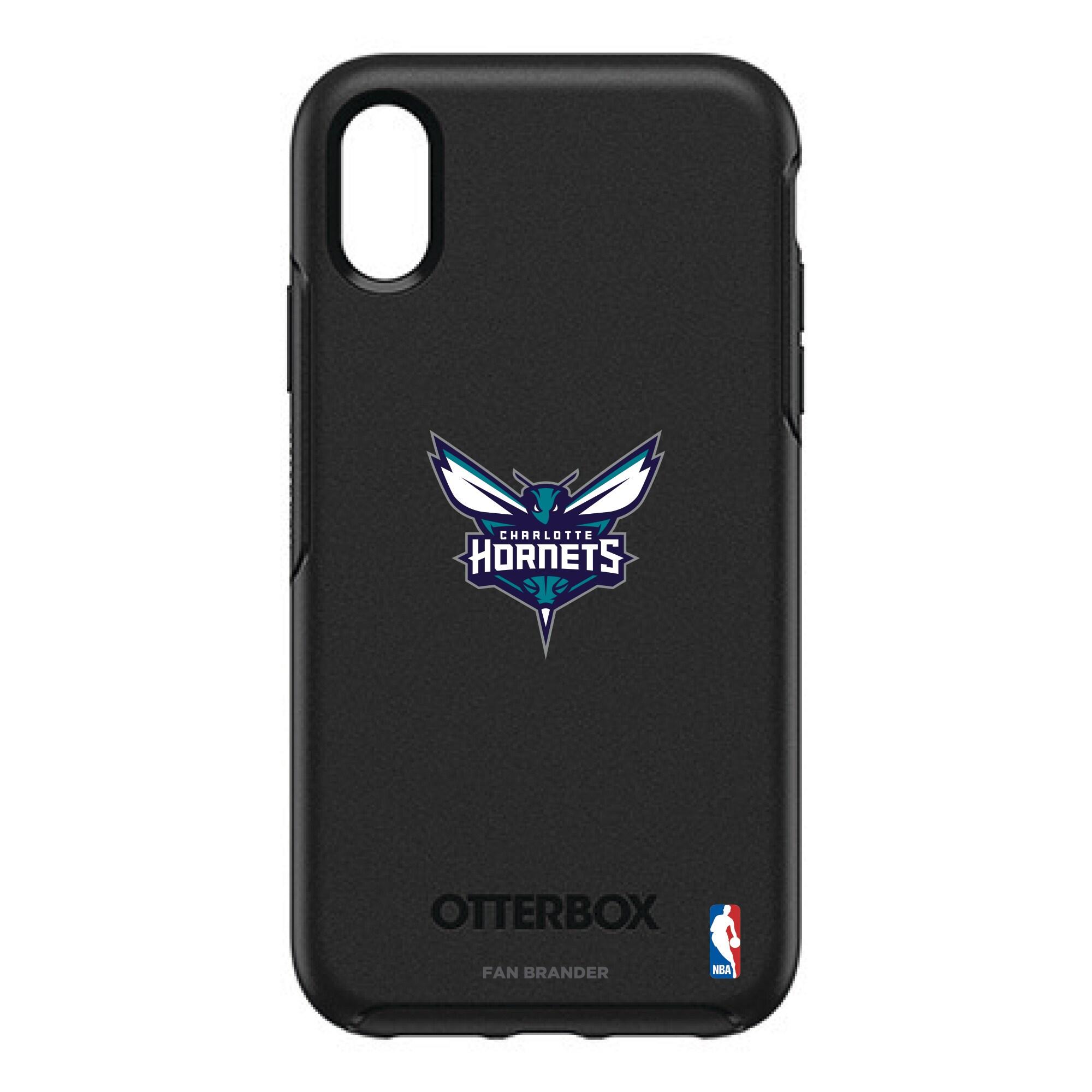 Charlotte Hornets OtterBox iPhone XR/XS Symmetry Case