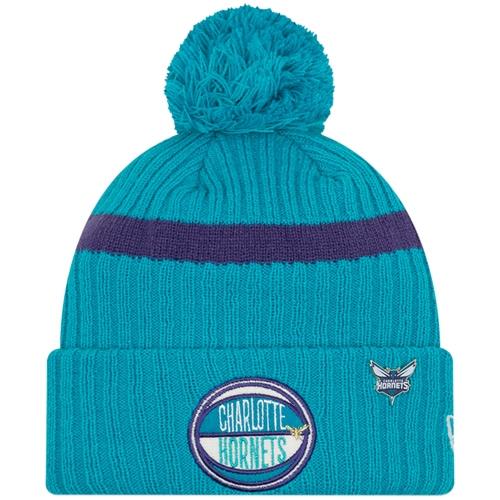 Charlotte Hornets New Era 2019 NBA Draft Cuffed Knit Hat - Teal