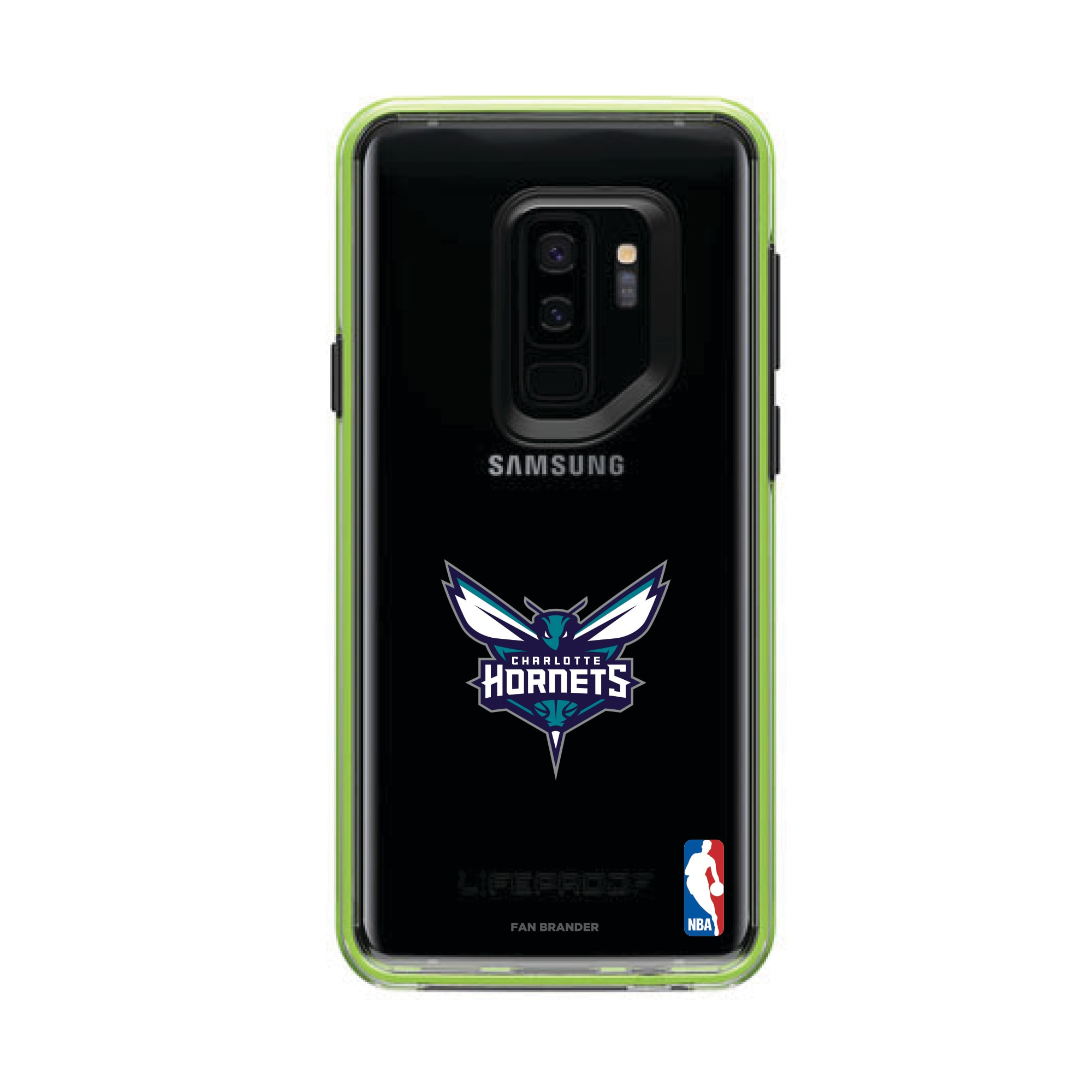 Charlotte Hornets LifeProof Night Flash Primary Logo Galaxy Case