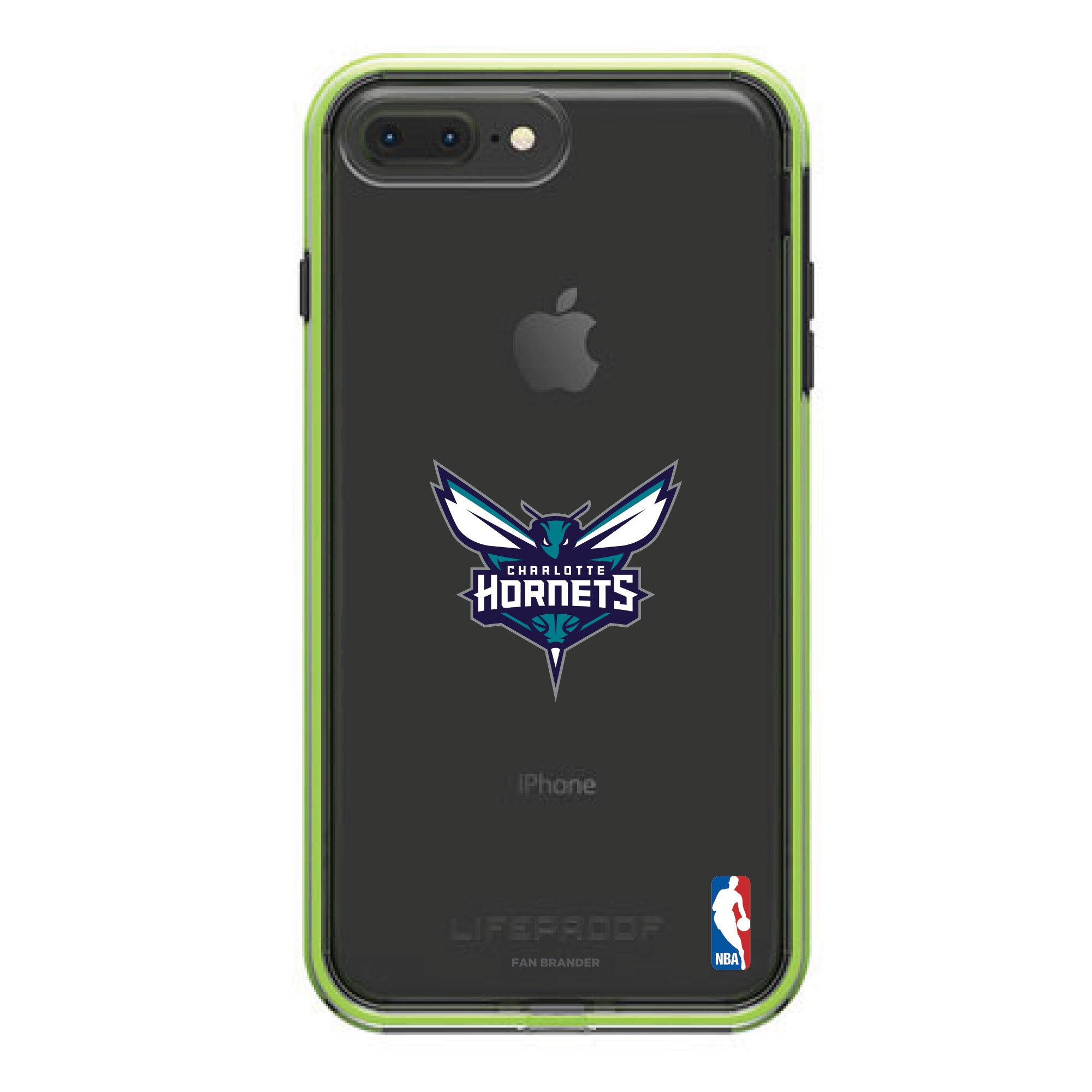 Charlotte Hornets LifeProof Night Flash Primary Logo iPhone Case