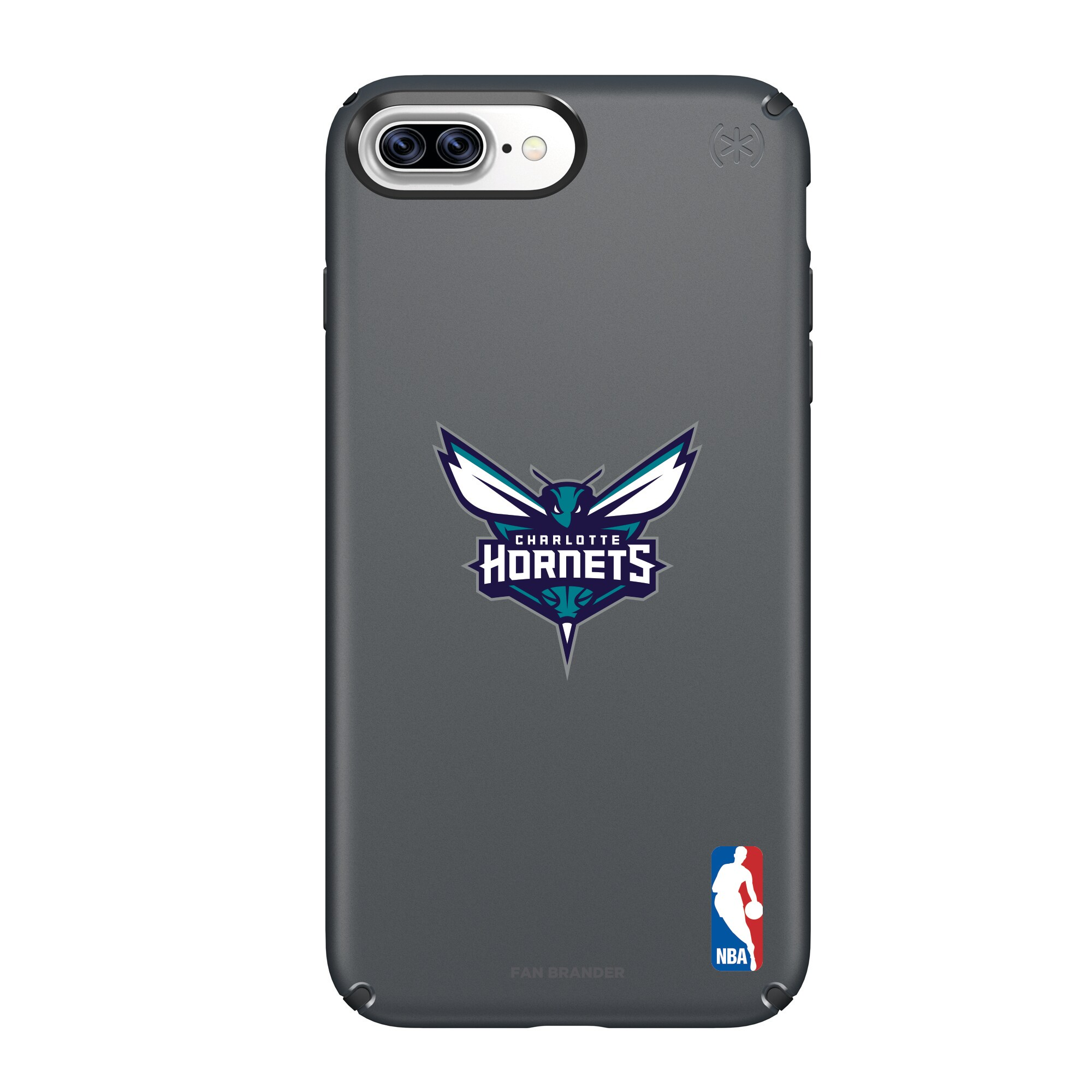 Charlotte Hornets Speck Primary Logo iPhone Case - Black