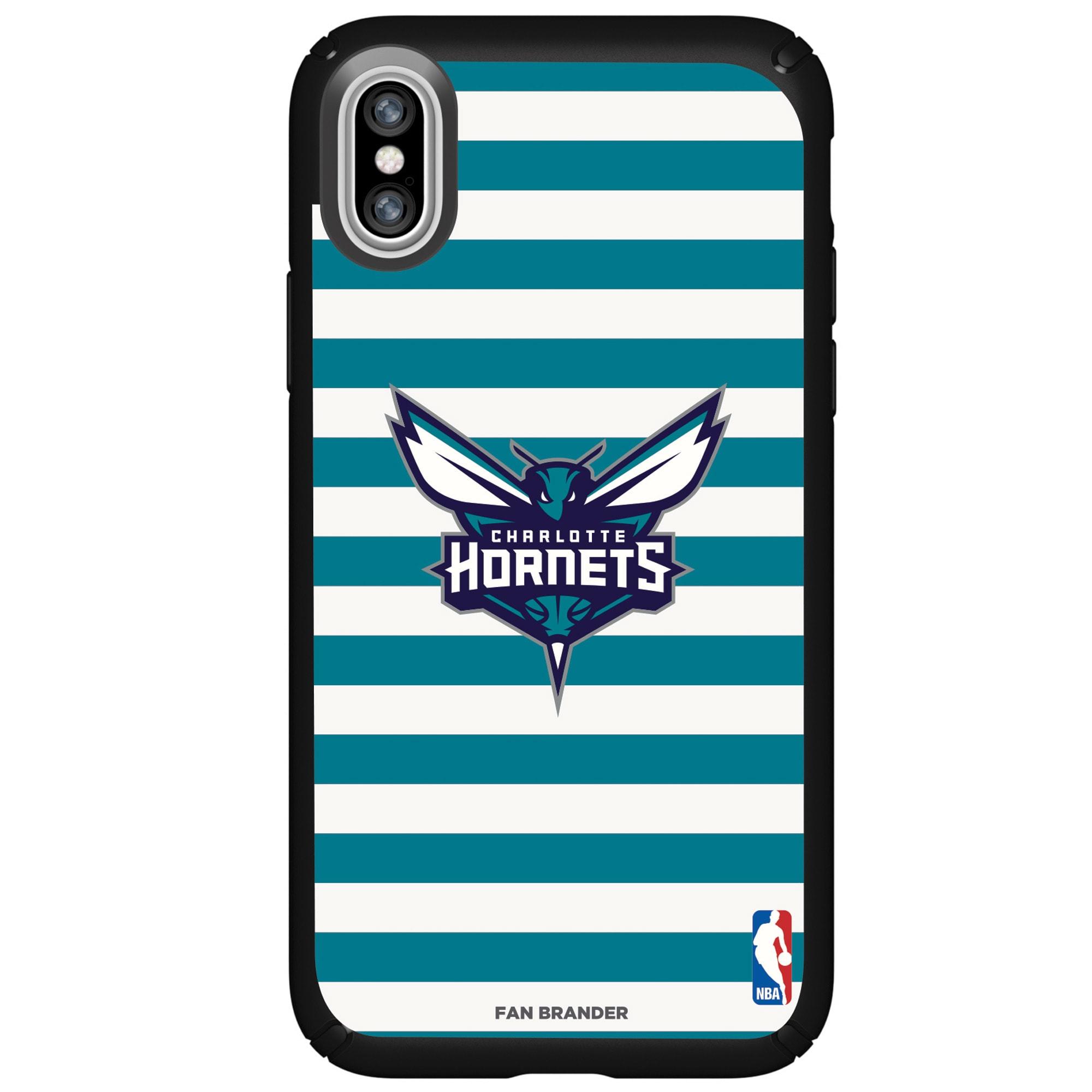 Charlotte Hornets Speck iPhone Presidio Striped Design Case