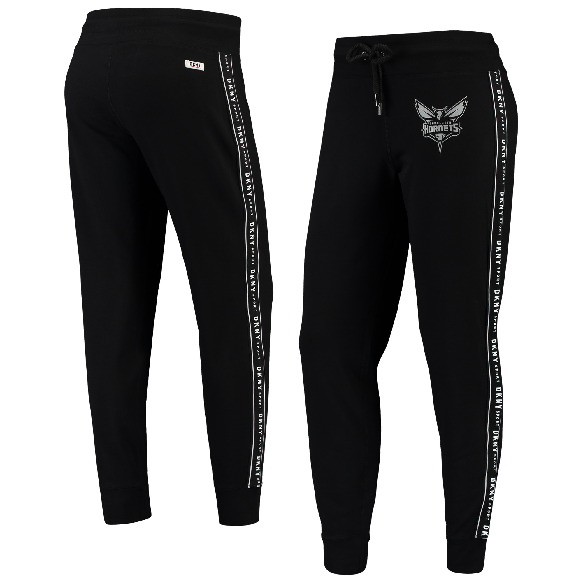 Charlotte Hornets DKNY Sport Women's Brooke Jogger Pants - Black