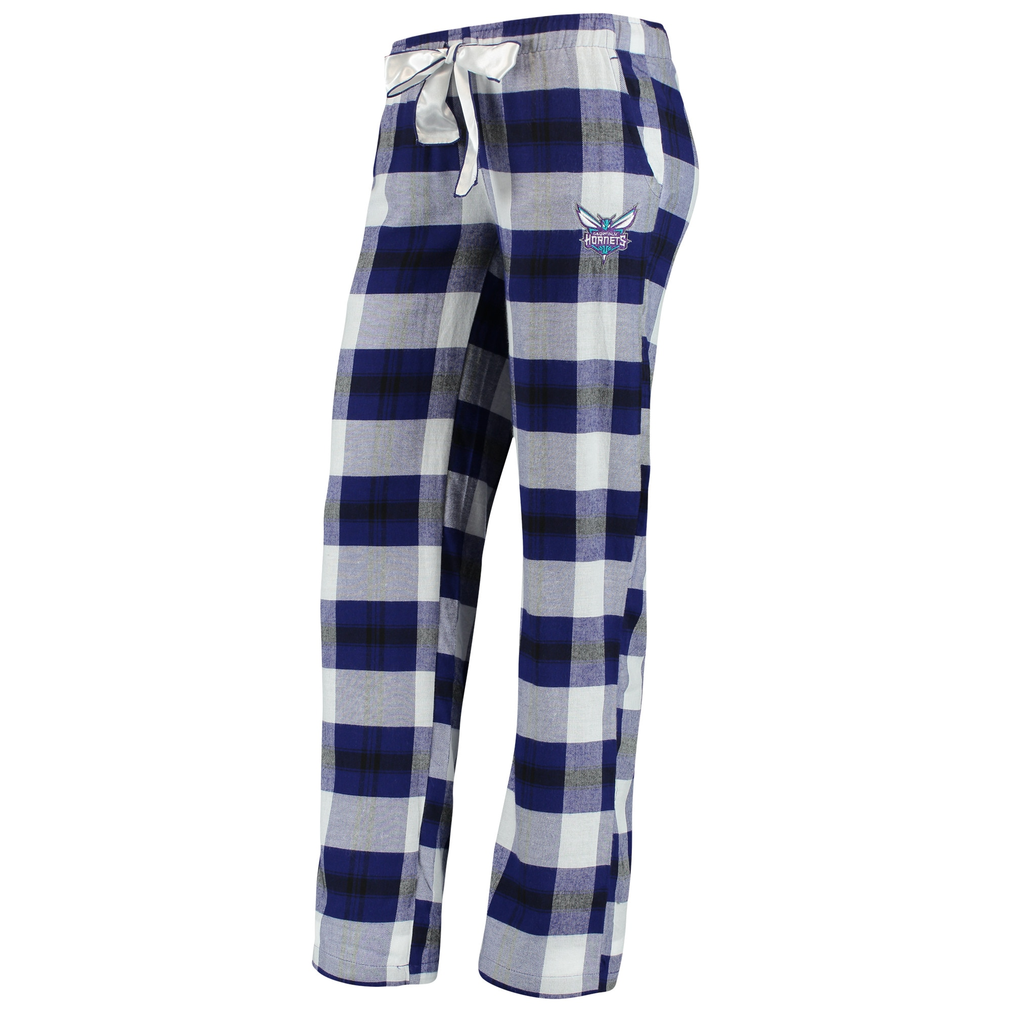 Charlotte Hornets Concepts Sport Women's Headway Flannel Pants - Purple/Black