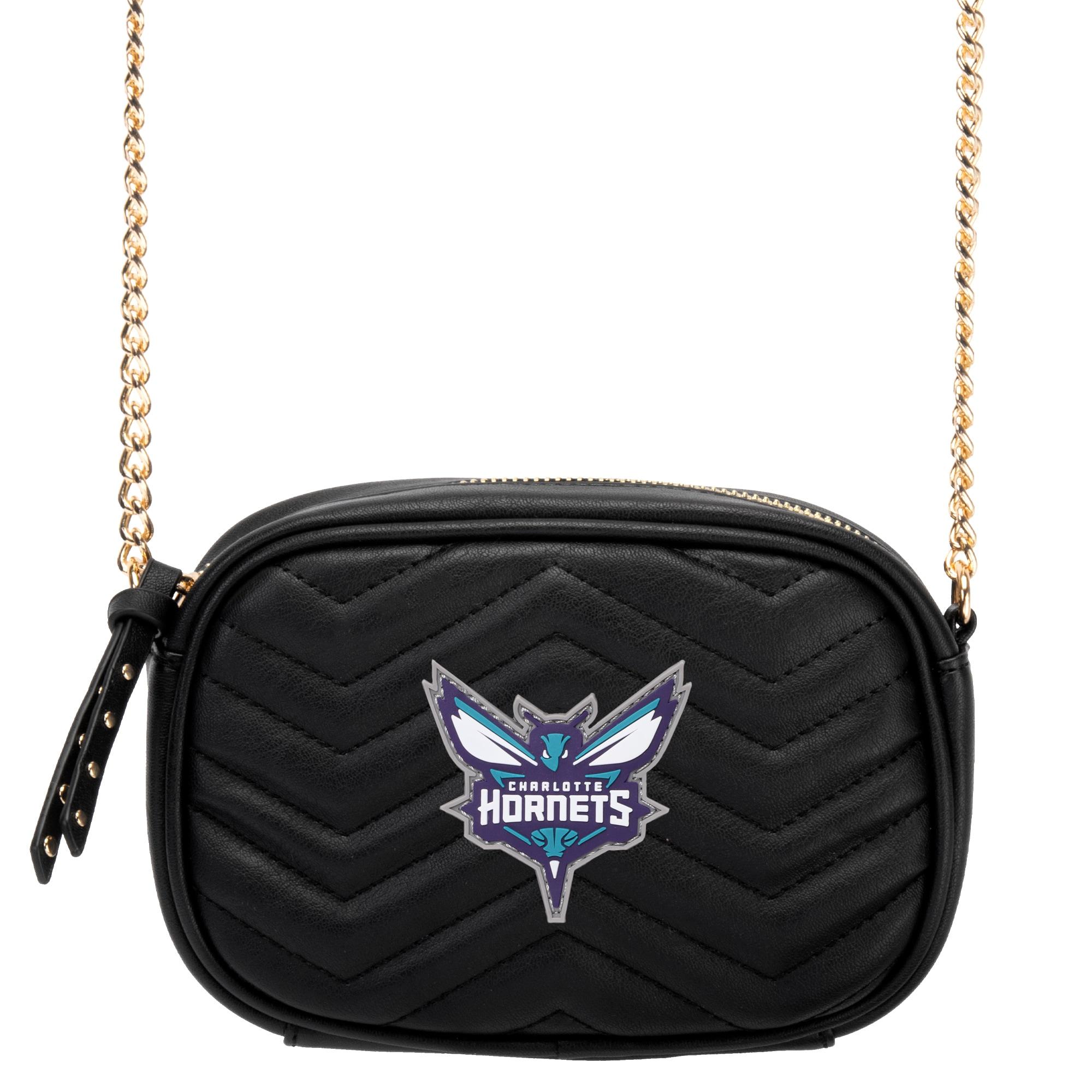 Charlotte Hornets Women's Crossbody Bag - Black