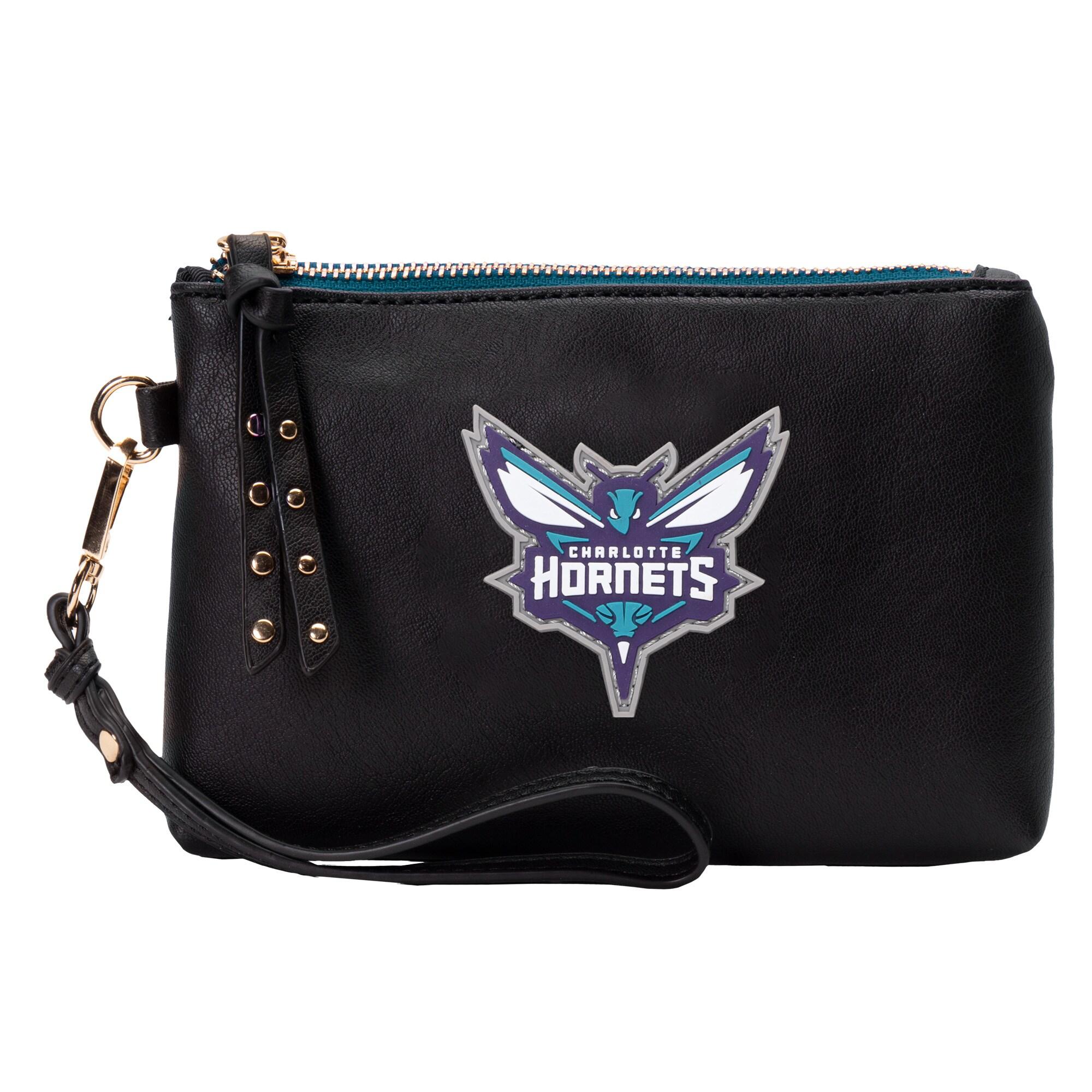 Charlotte Hornets Wristlet Pouch