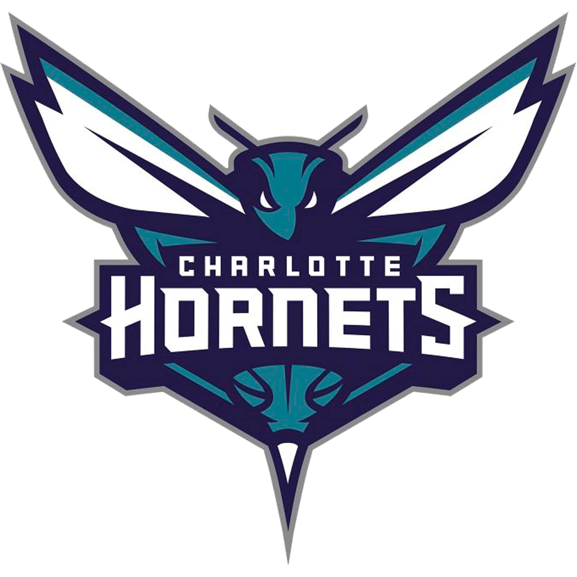 Charlotte Hornets Fathead Logo Giant Removable Decal