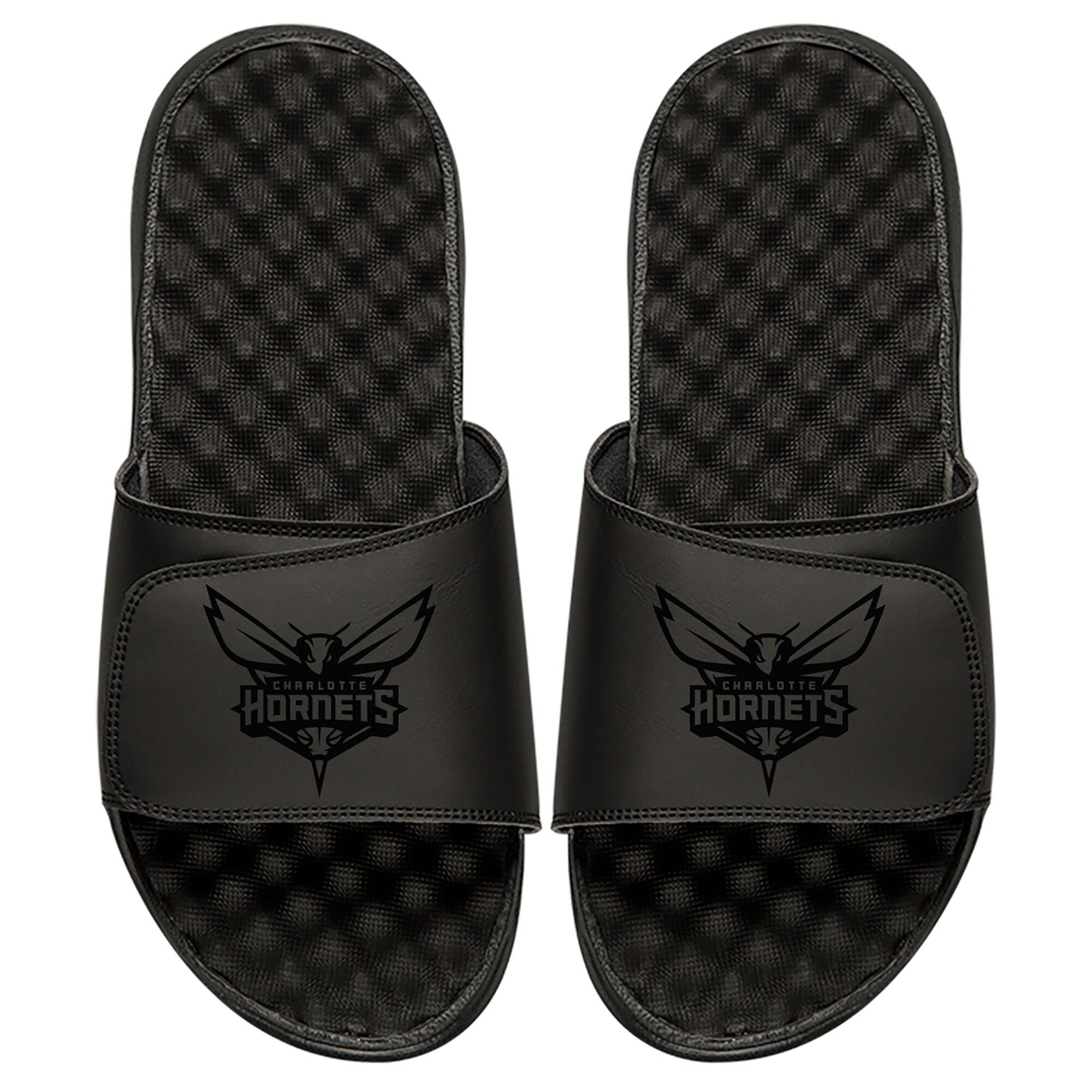 Charlotte Hornets ISlide Tonal Slide Sandals - Black
