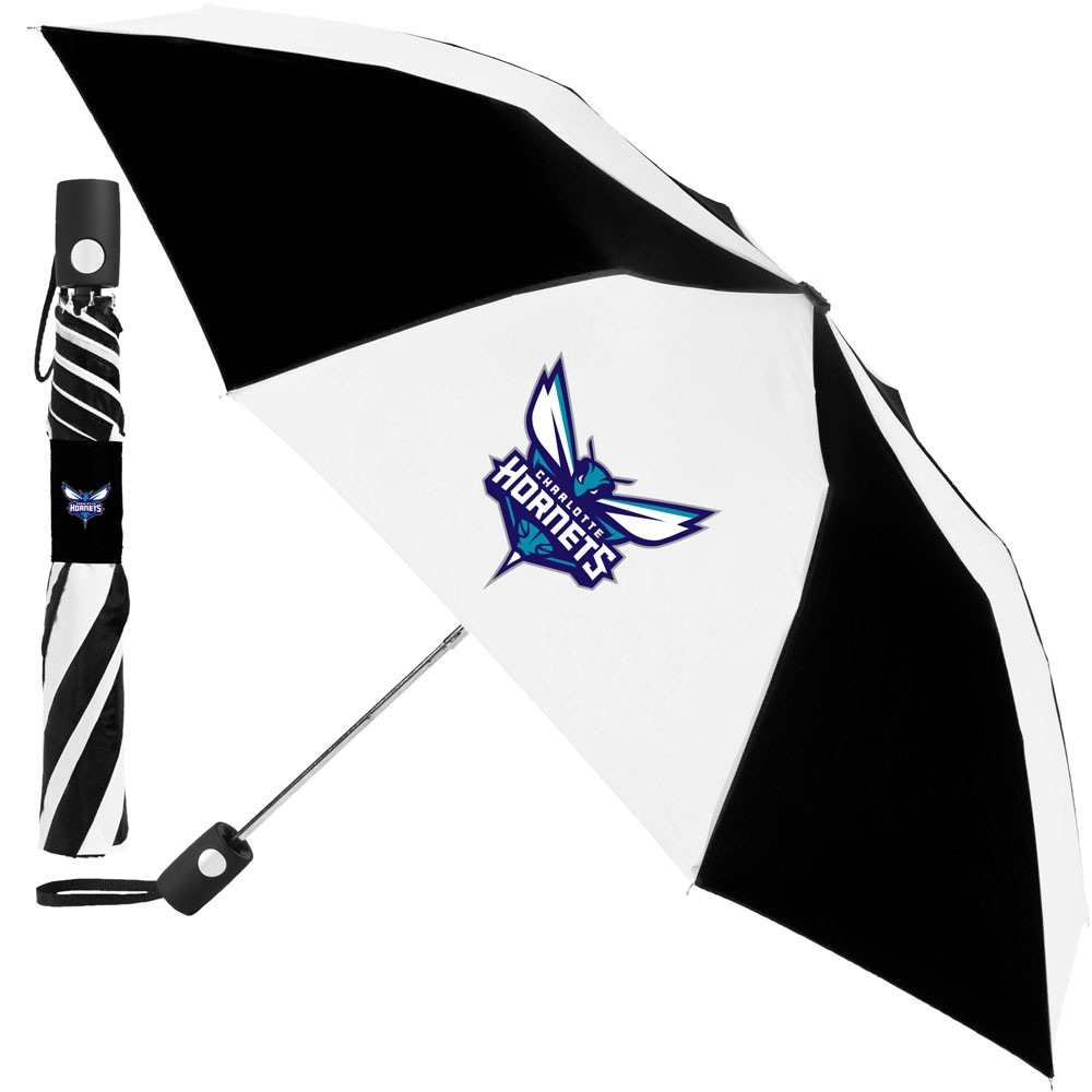 "Charlotte Hornets WinCraft 42"" Folding Umbrella"