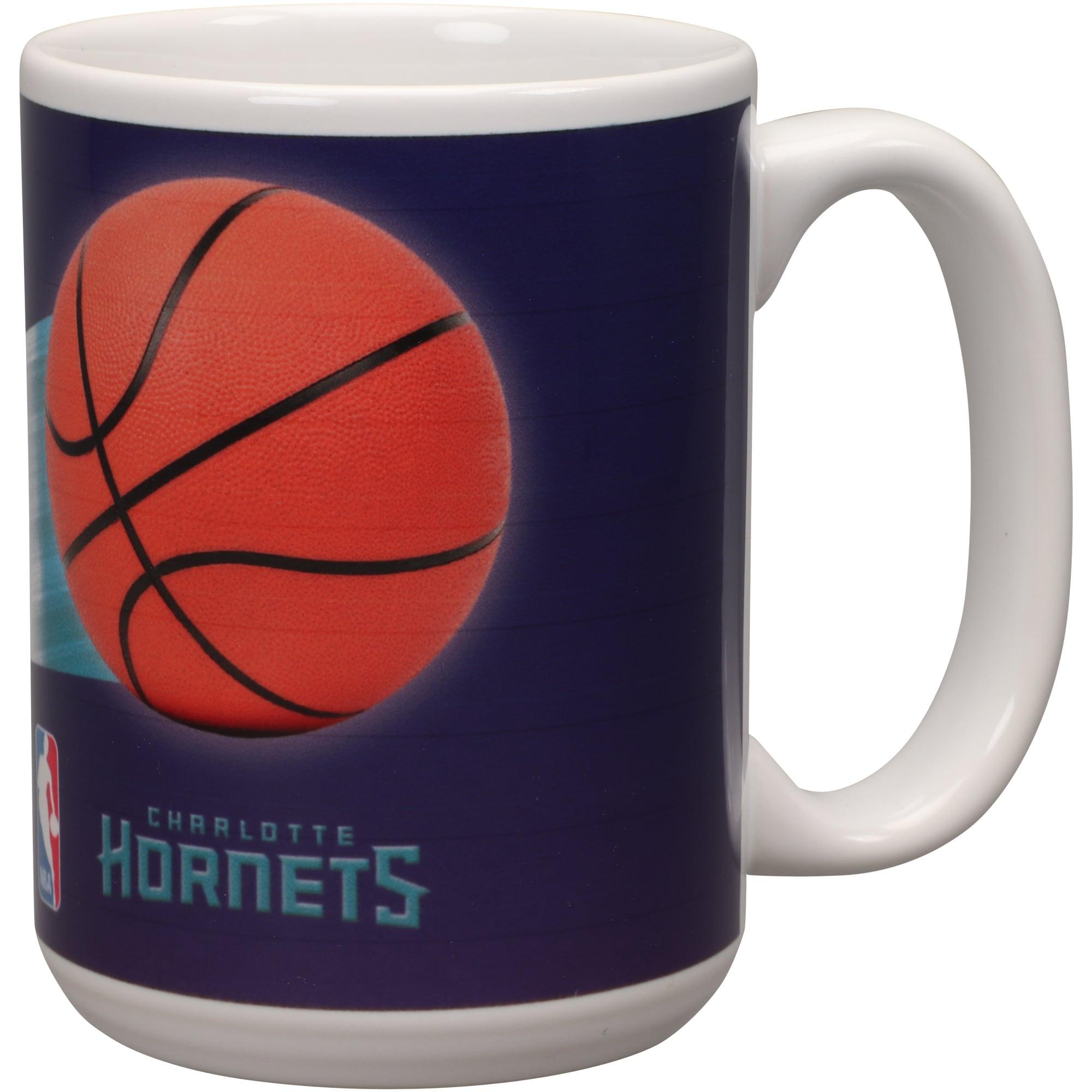 Charlotte Hornets 15oz. Team 3D Graphic Mug
