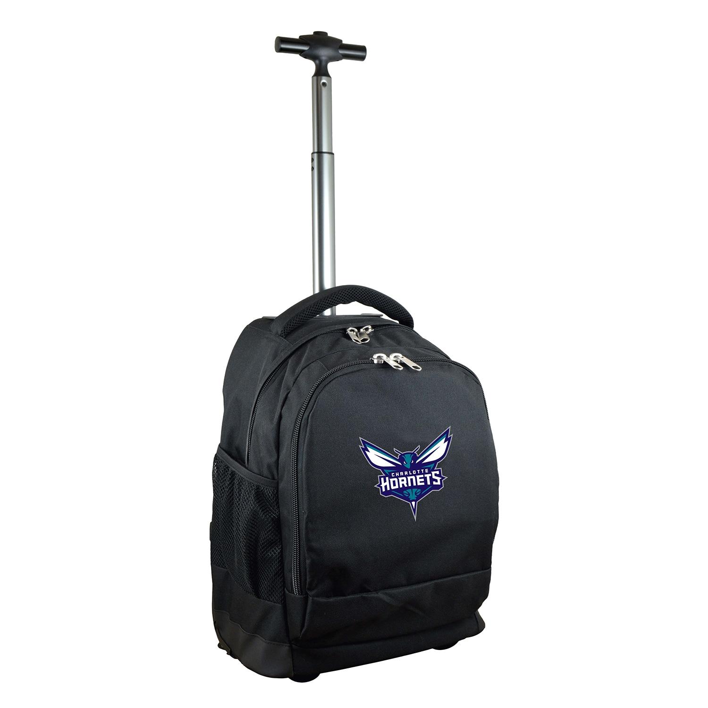 Charlotte Hornets 19'' Premium Wheeled Backpack - Black