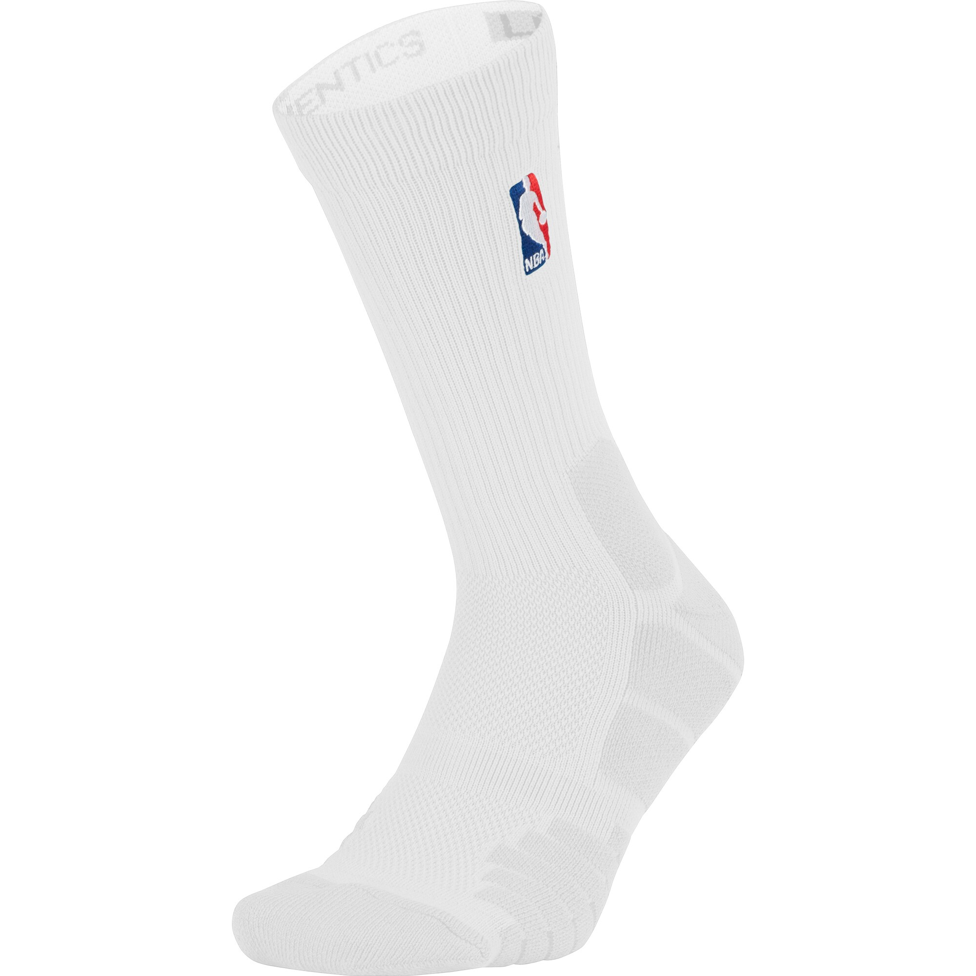 Charlotte Hornets Nike Elite Quick Crew Socks - White