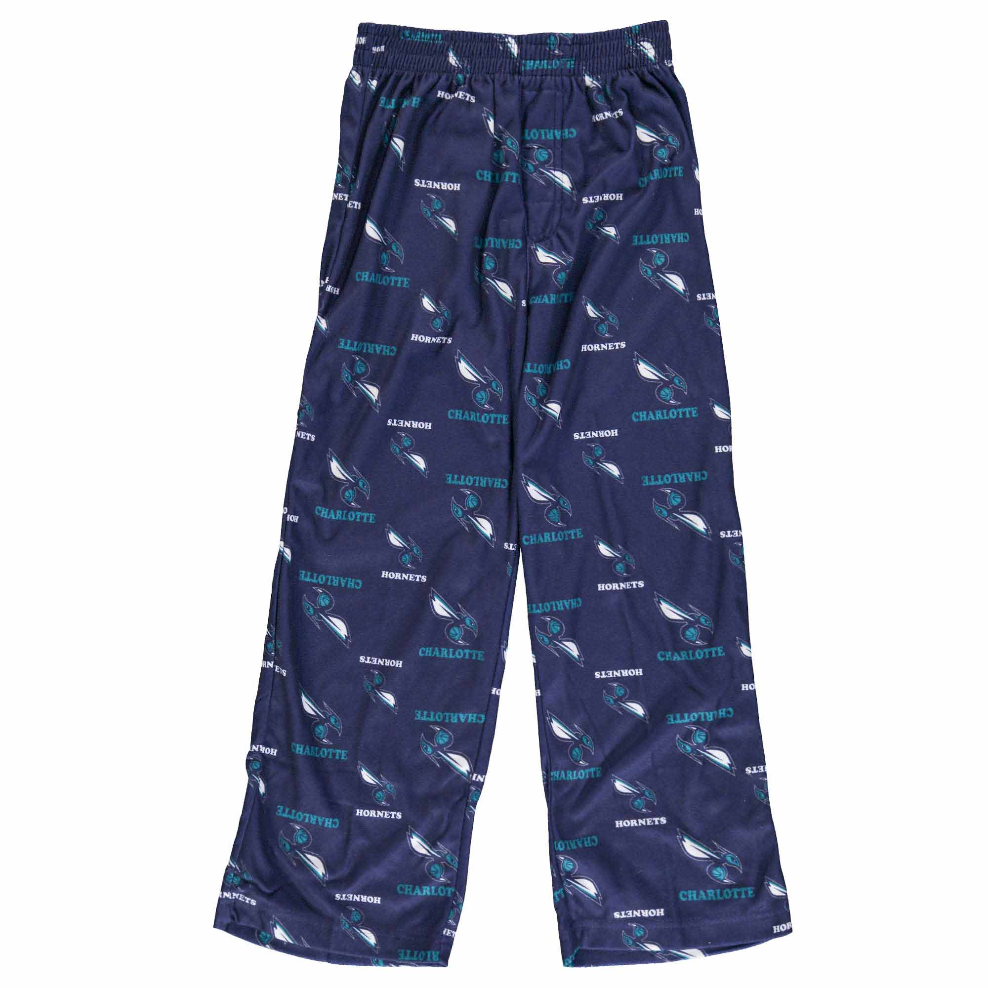 Charlotte Hornets Jordan Brand Youth Team Color Printed Pants - Purple
