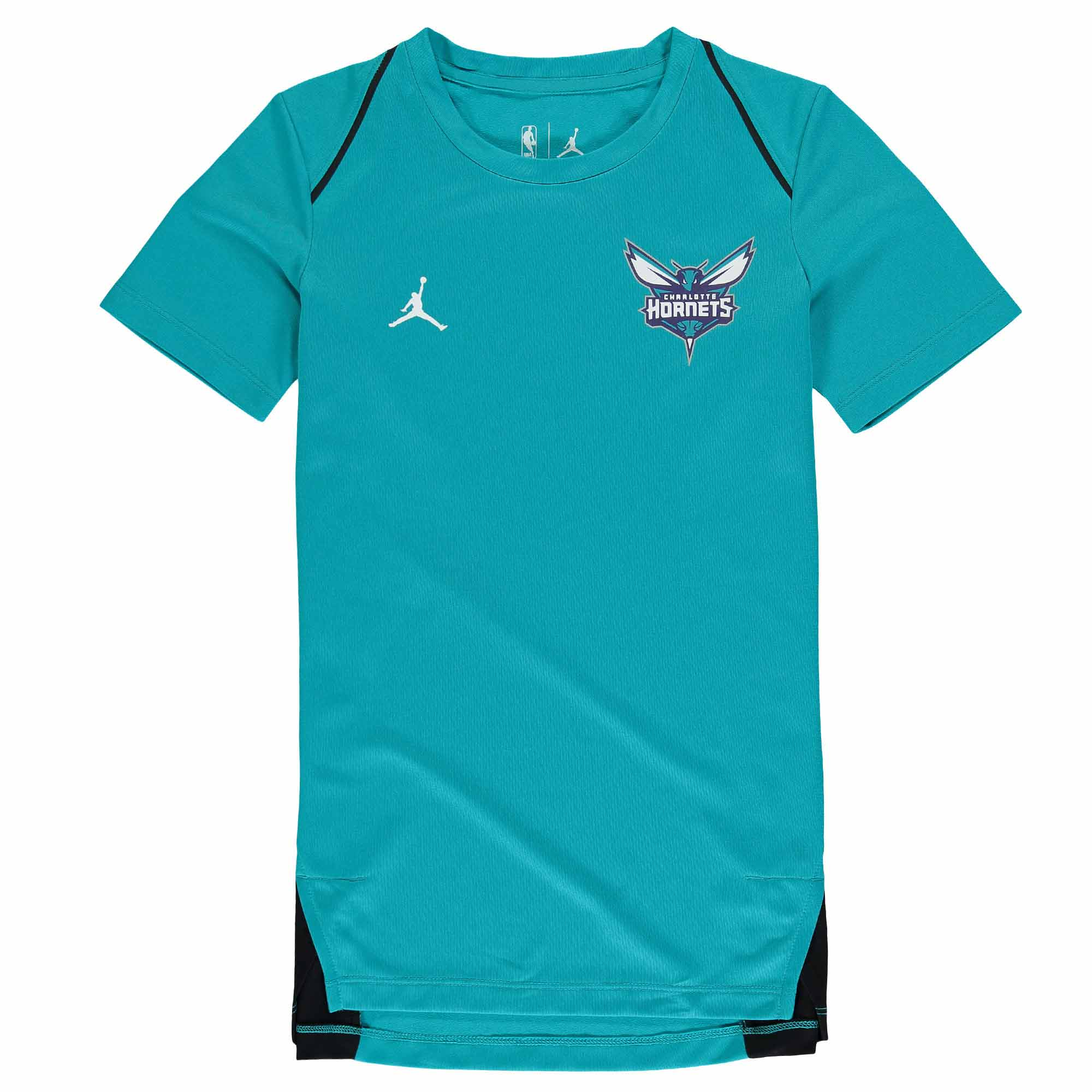 Charlotte Hornets Nike Youth Hyperelite Shooter Performance T-Shirt - Teal
