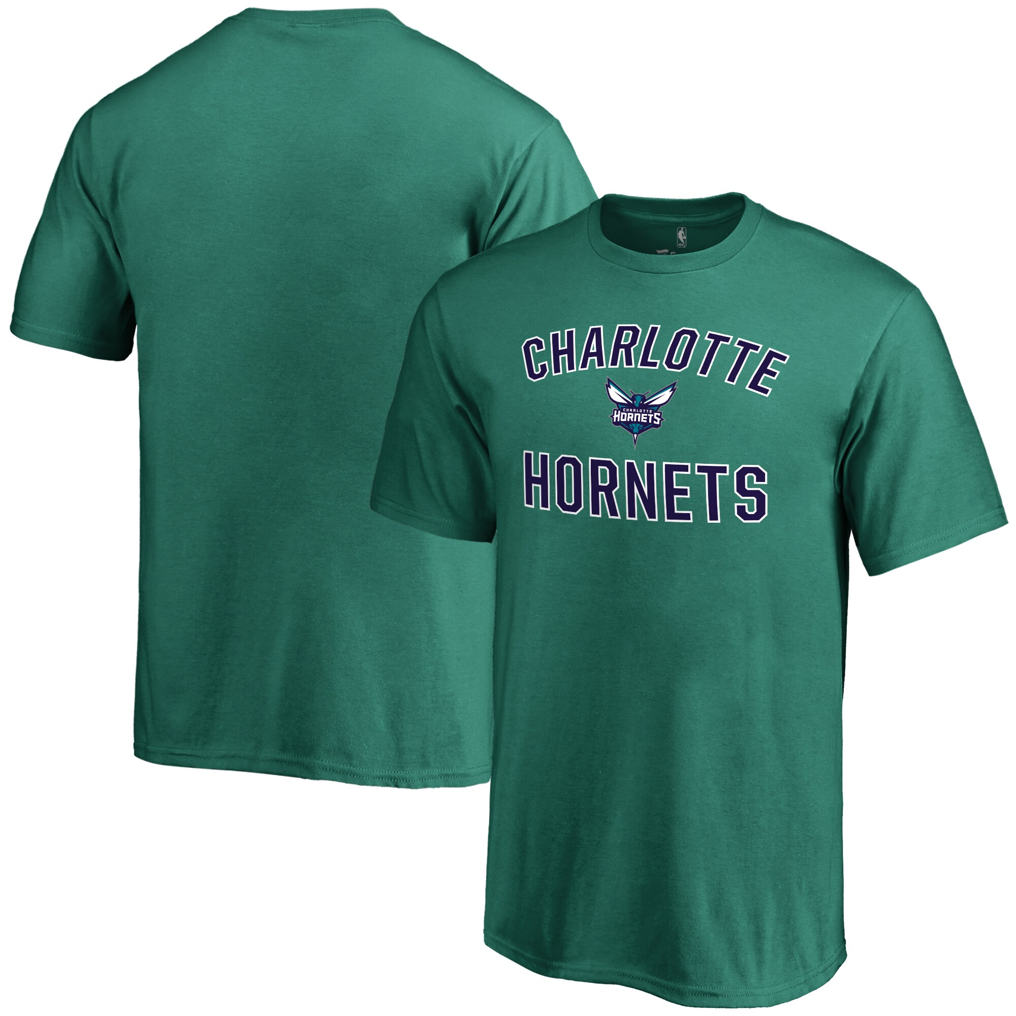 Charlotte Hornets Youth Victory Arch T-Shirt - Teal