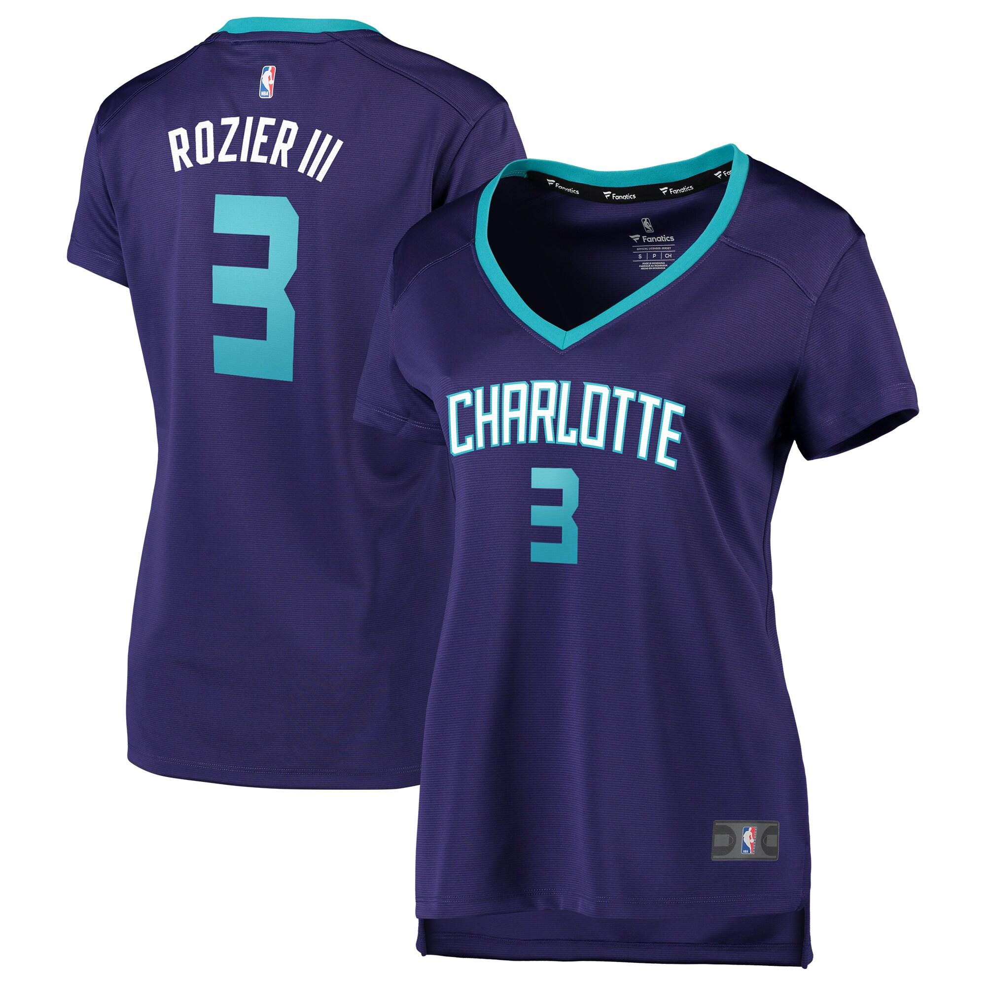 Terry Rozier Charlotte Hornets Fanatics Branded Women's Fast Break Replica Jersey Purple - Statement Edition